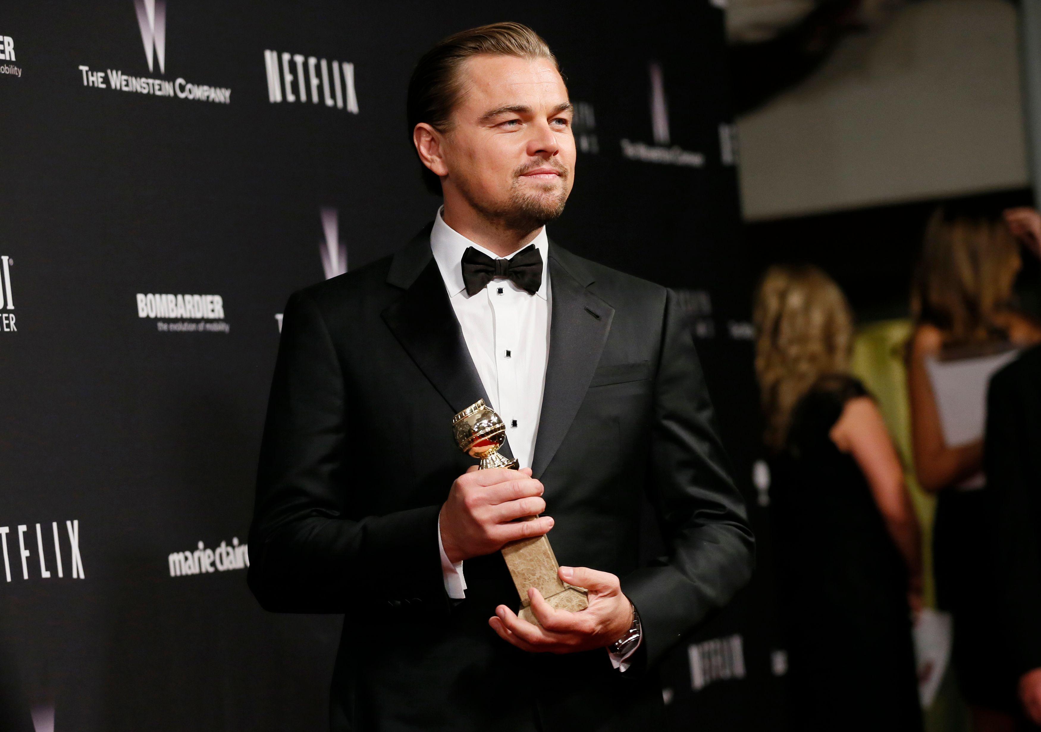 Golden Globes : Leonardo DiCaprio et Jennifer Lawrence grands gagnants de la cérémonie