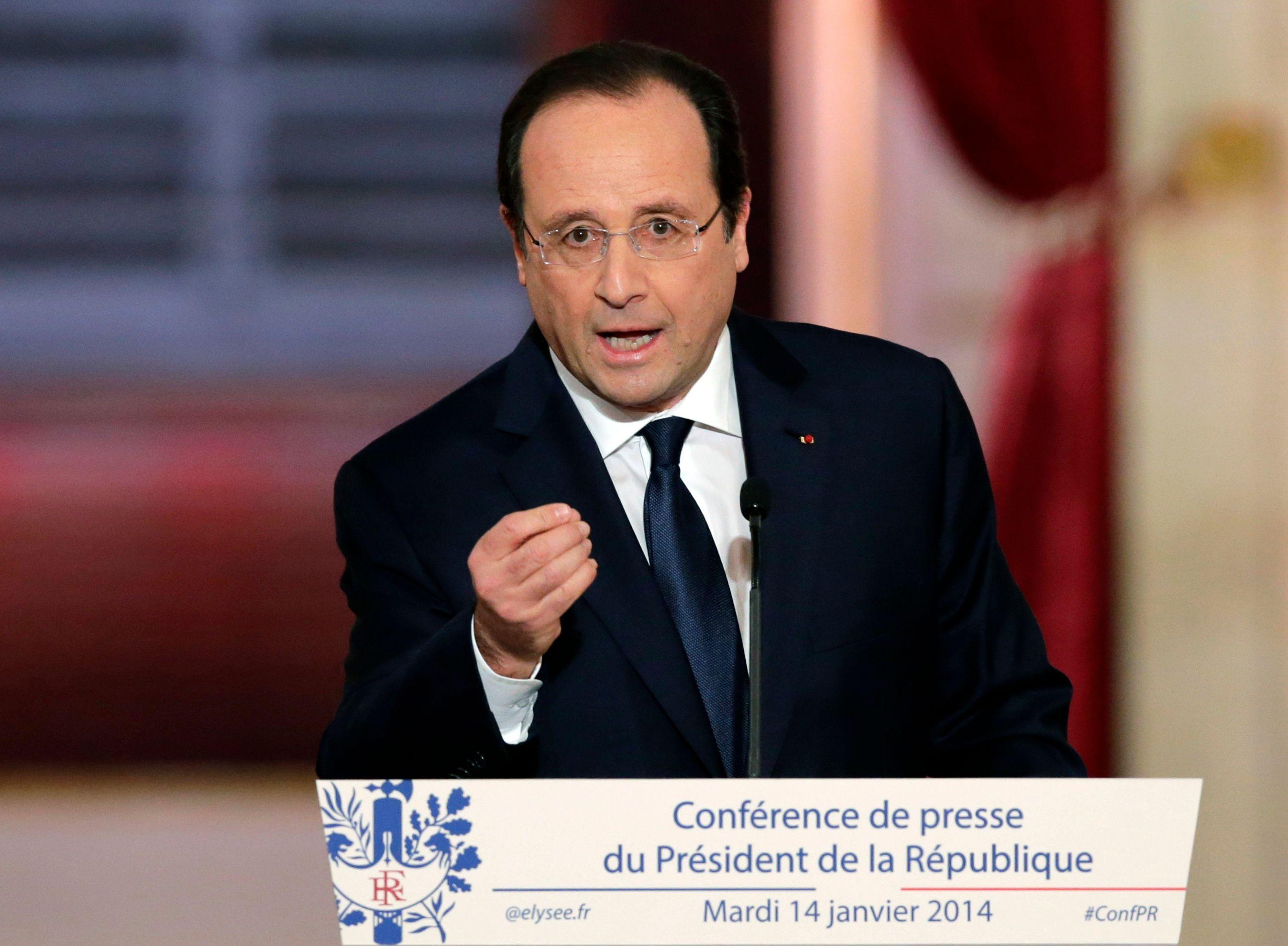 """""""L'agression qui s'est produite vendredi aurait pu dégénérer en un carnage monstrueux"""" a rappelé François Hollande."""