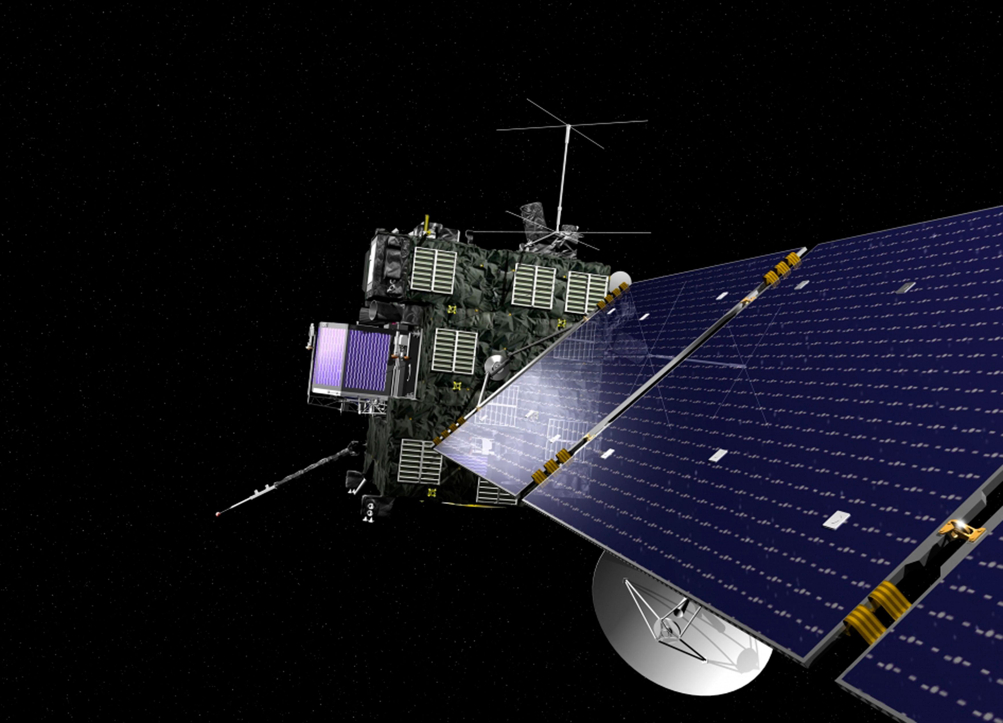 La sonde Rosetta s'est réveillée ce lundi
