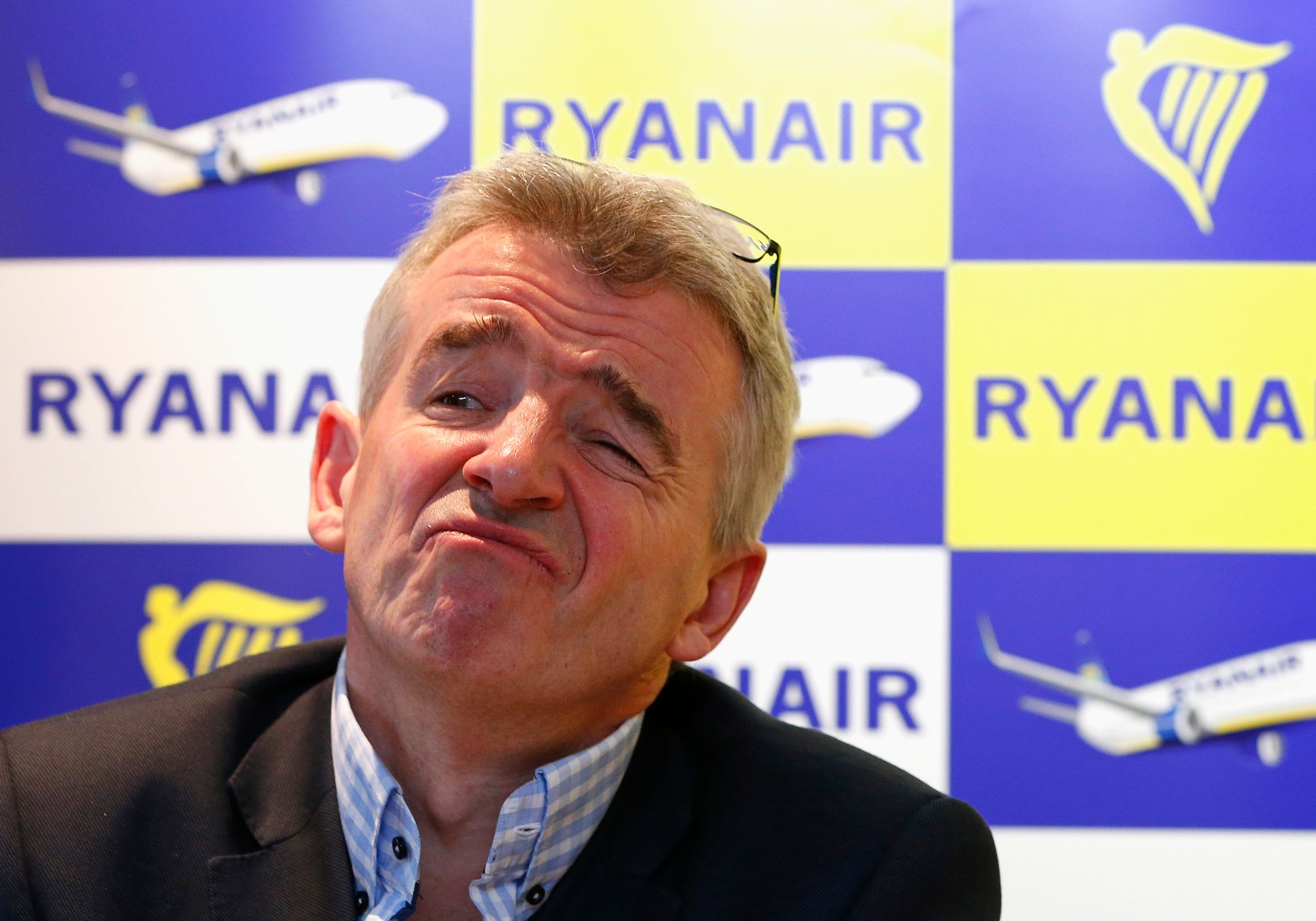 Michael O'Leary, PDG de Ryanair.