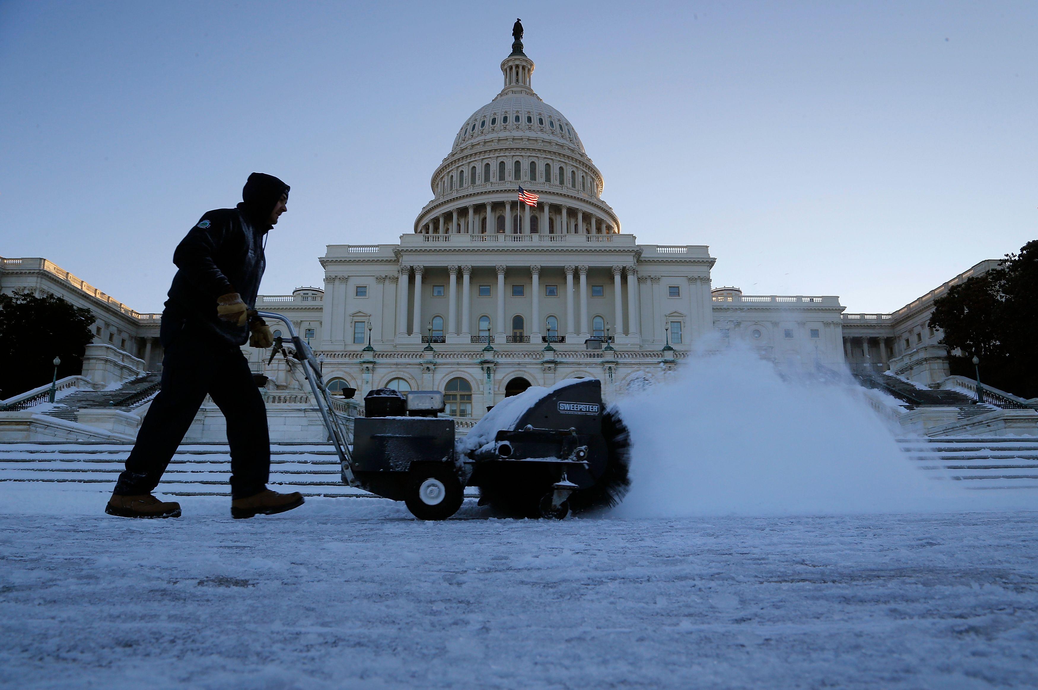 Etats-Unis : une immense tempête de neige va toucher l'Est du pays