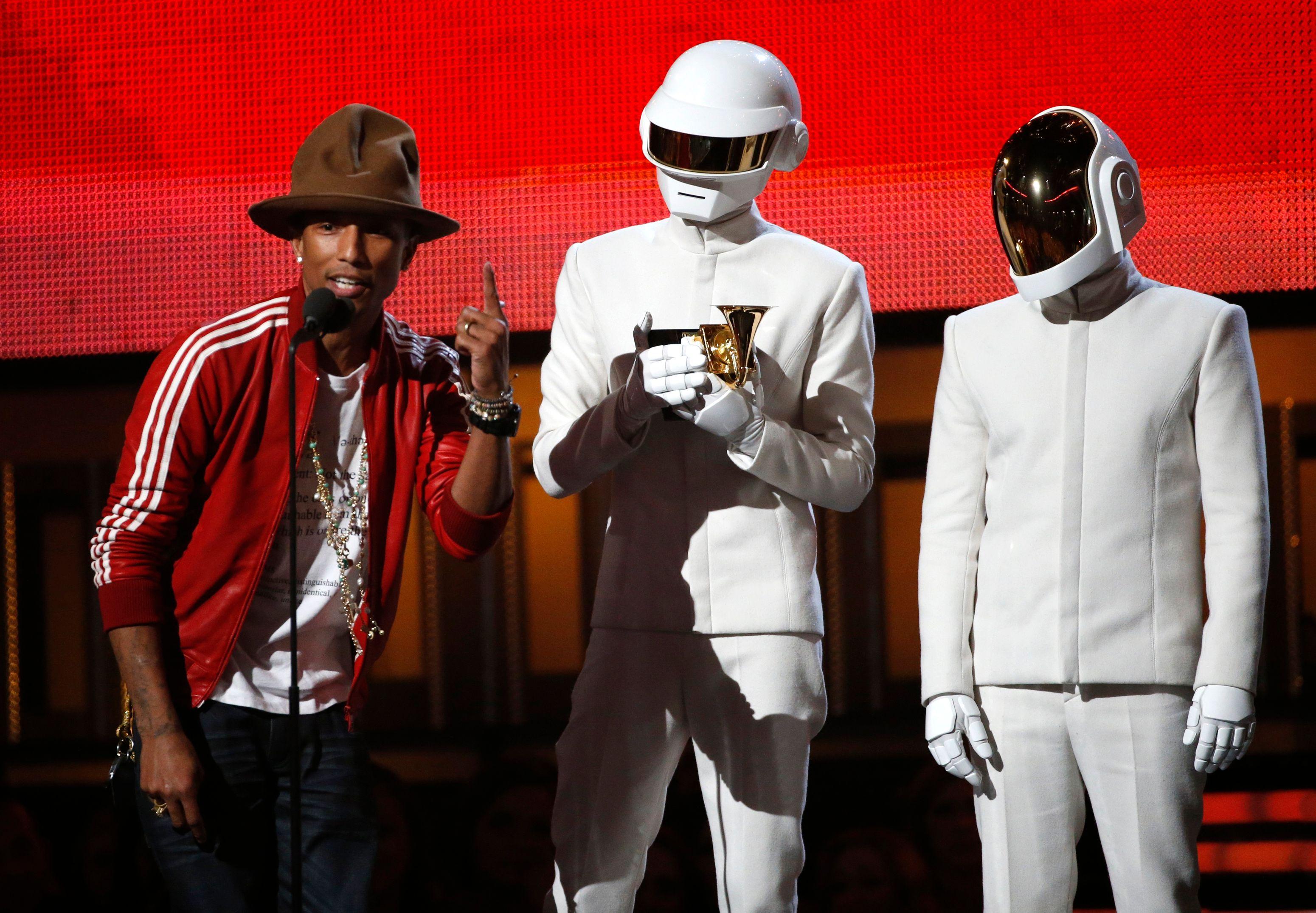 Les Daft Punk ont triomphé aux Grammy Awards