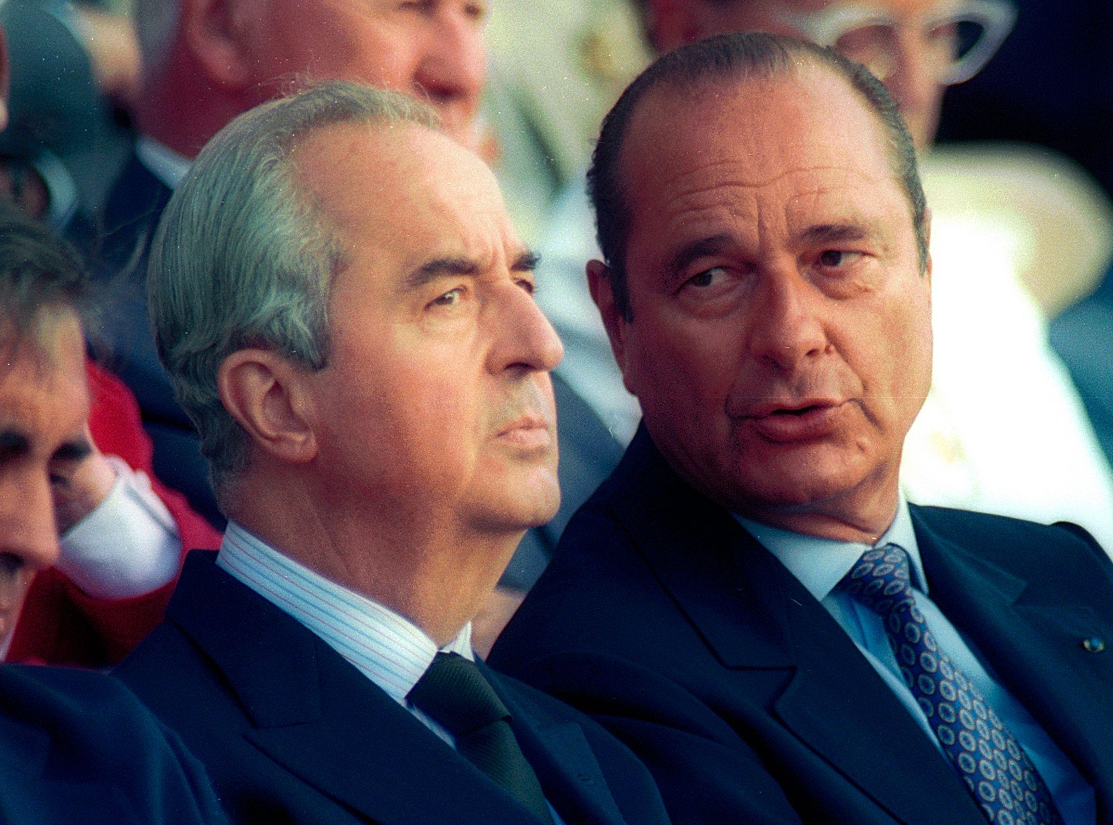 Quand Alain Juppé préferait Edouard Balladur à Jacques Chirac