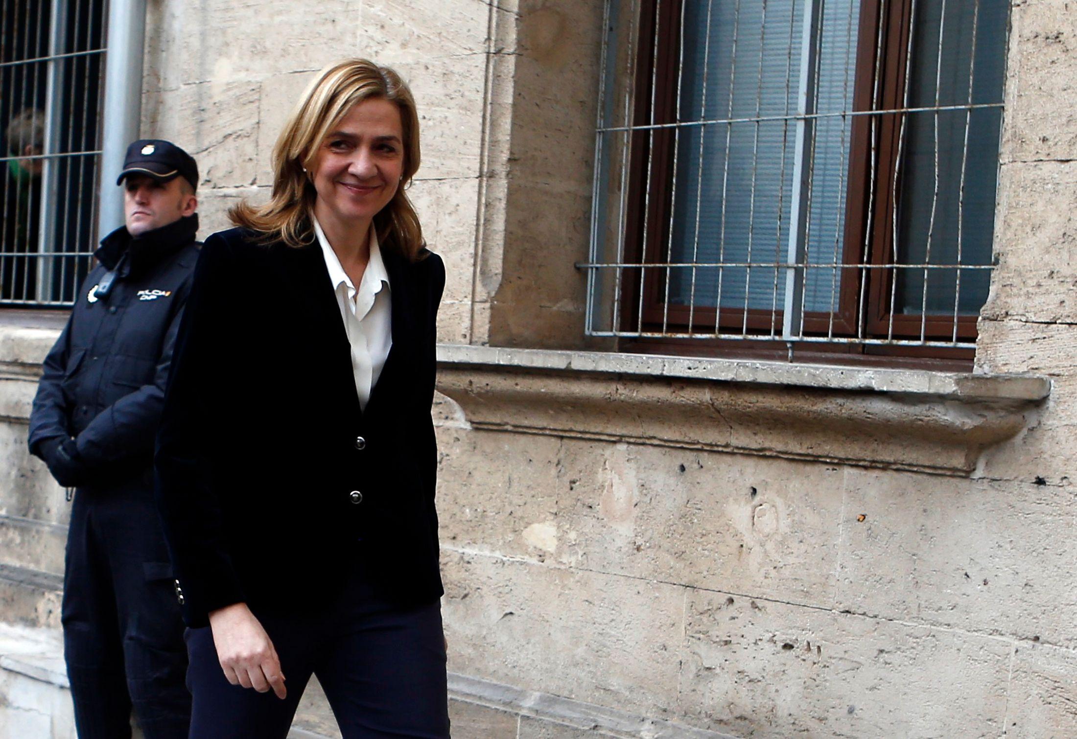 Espagne : l'infante Cristina, fille du roi Juan Carlos, au tribunal pour fraude fiscale