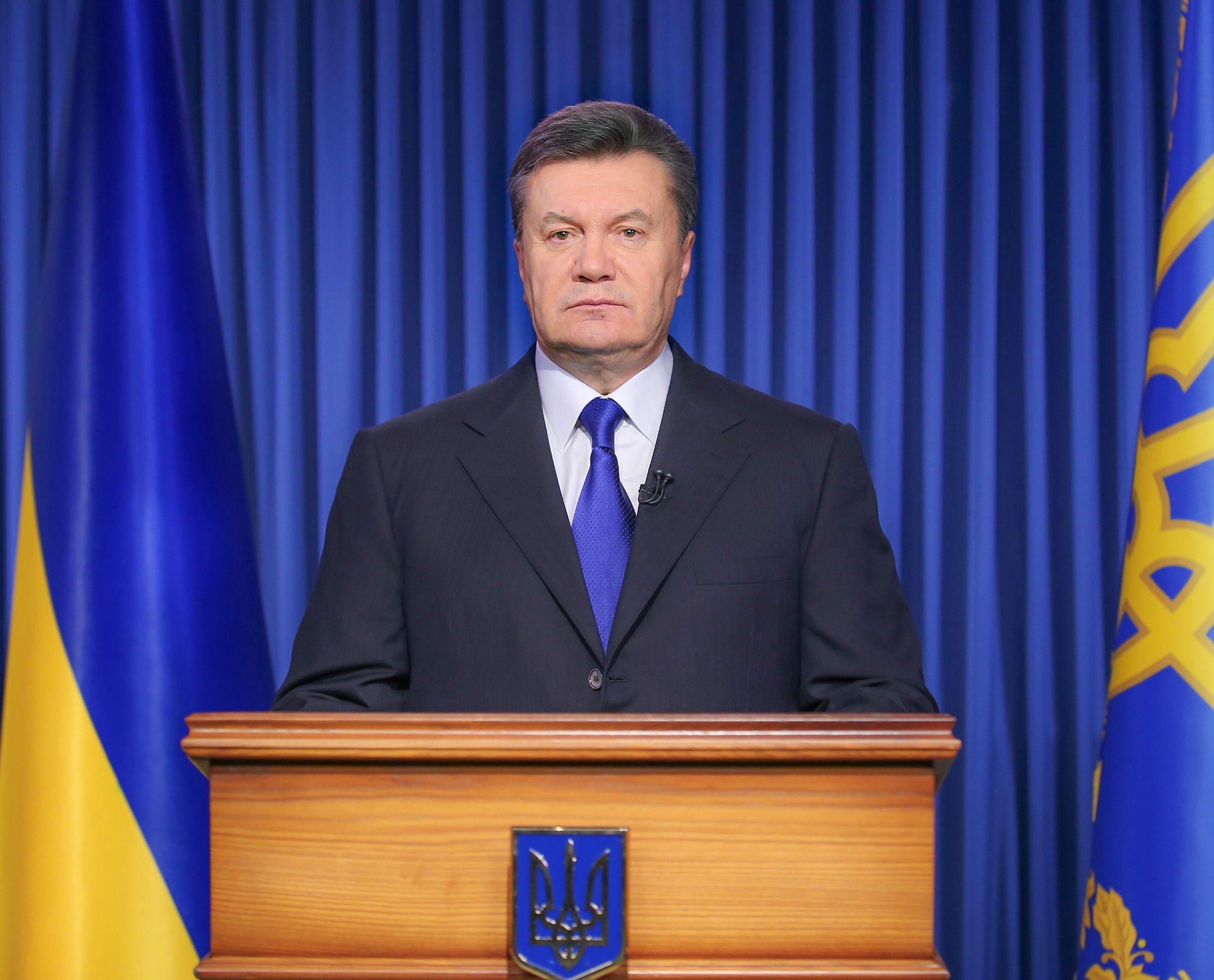 Un mandat d'arrêt a été dressé à l'encontre de Viktor Ianoukovitch