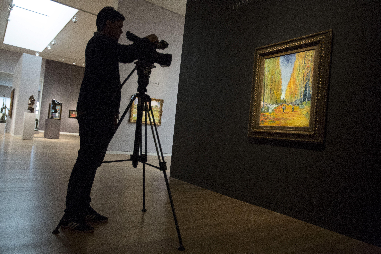 """""""L'allée des Alyscamps"""" de Van Gogh"""