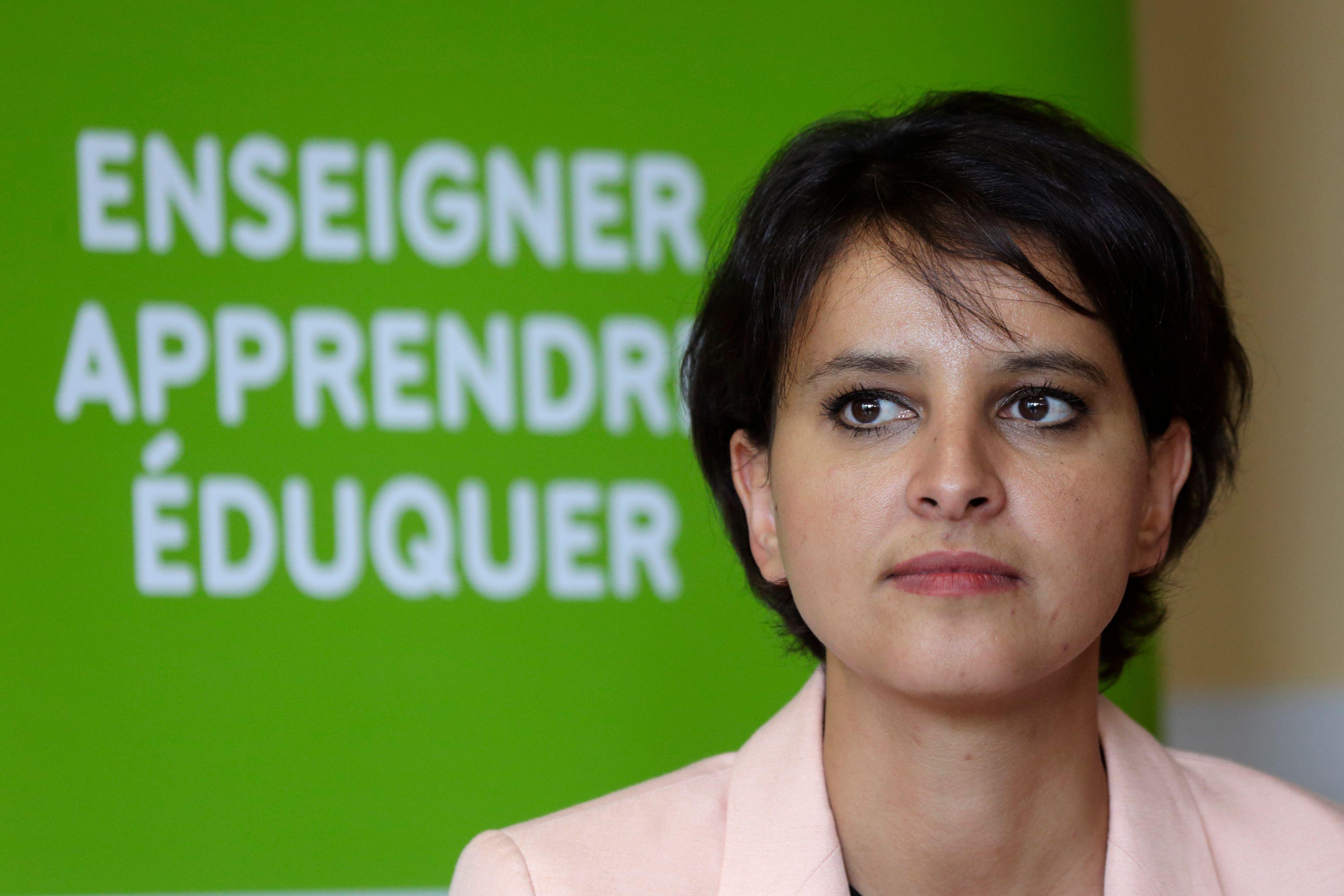 """Quand Najat Vallaud-Belkacem se trompe dans son """"cours d'histoire"""" à Nicolas Sarkozy"""