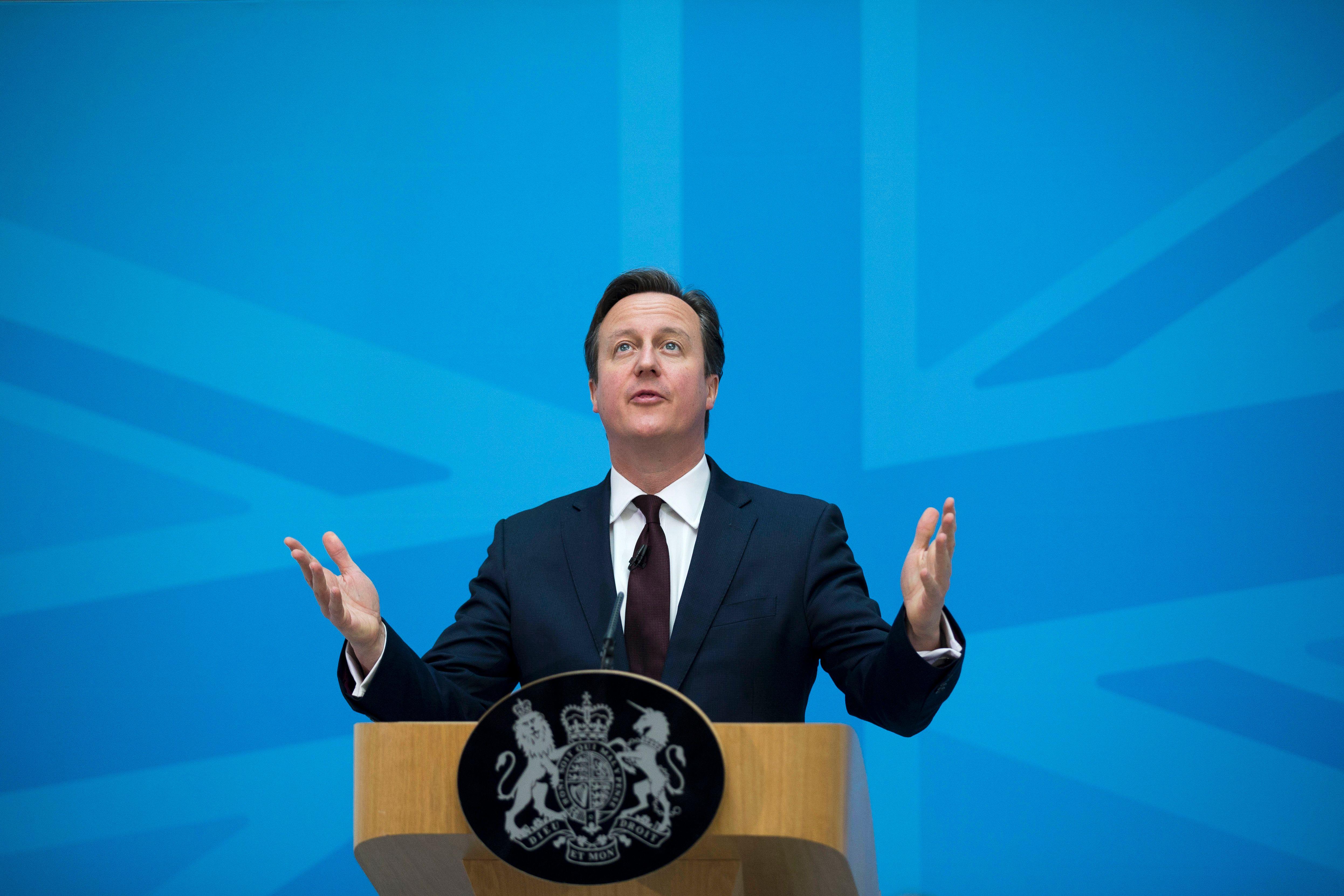 David Cameron en visite à Paris pour renégocier l'Europe
