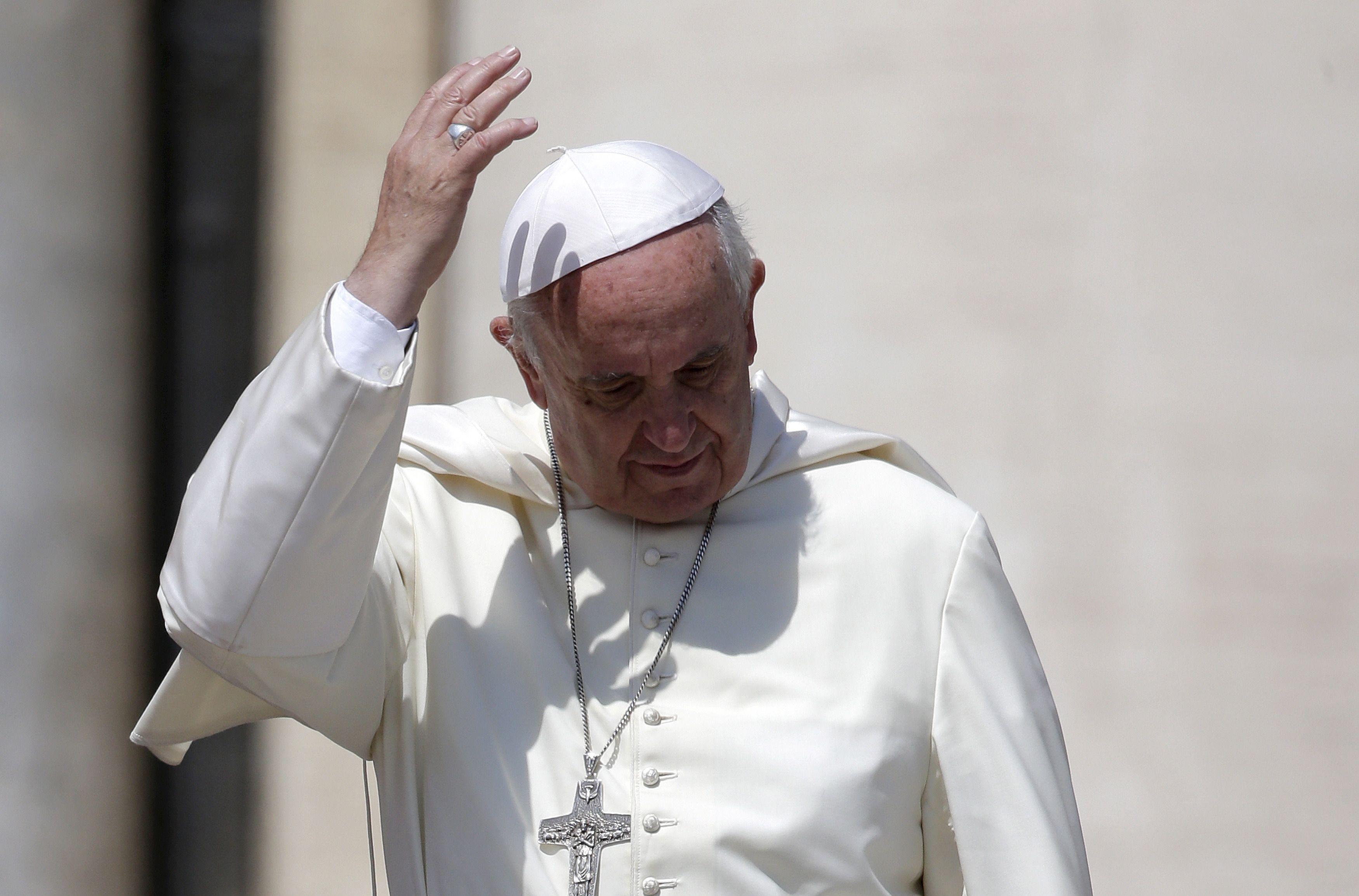 """Pour le Pape, utiliser le nom de Dieu pour justifier la violence est """"un blasphème"""""""