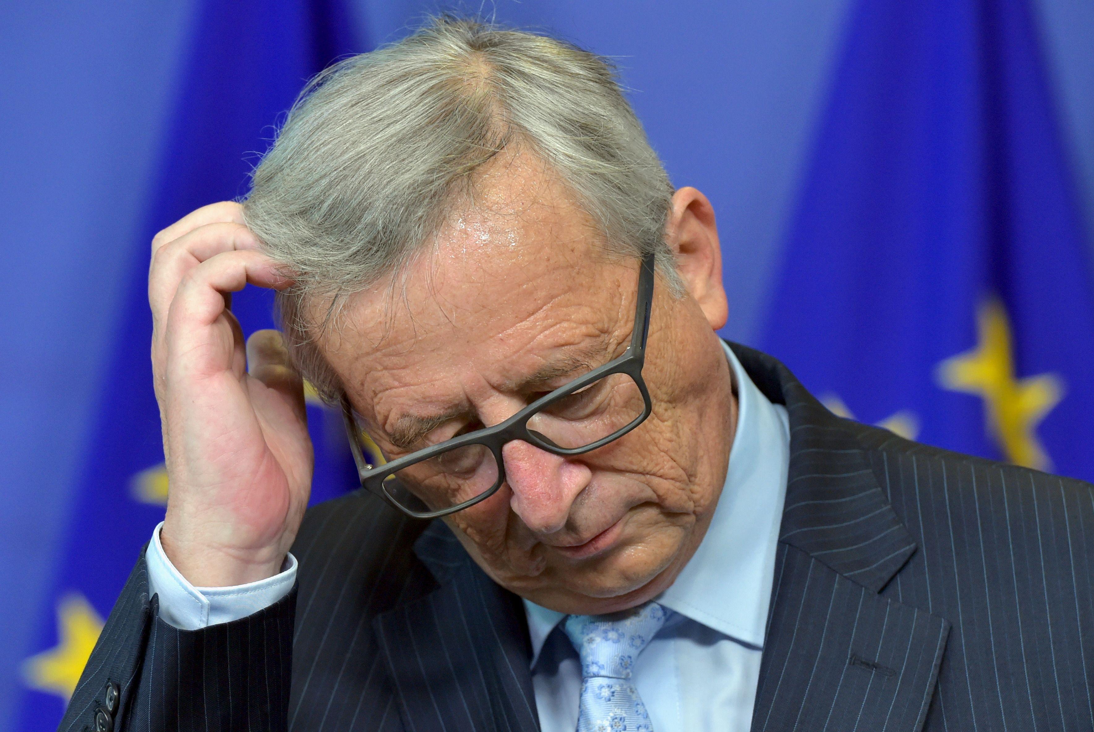 Jean-Claude Juncker s'inquiète pour l'avenir de la zone euro.