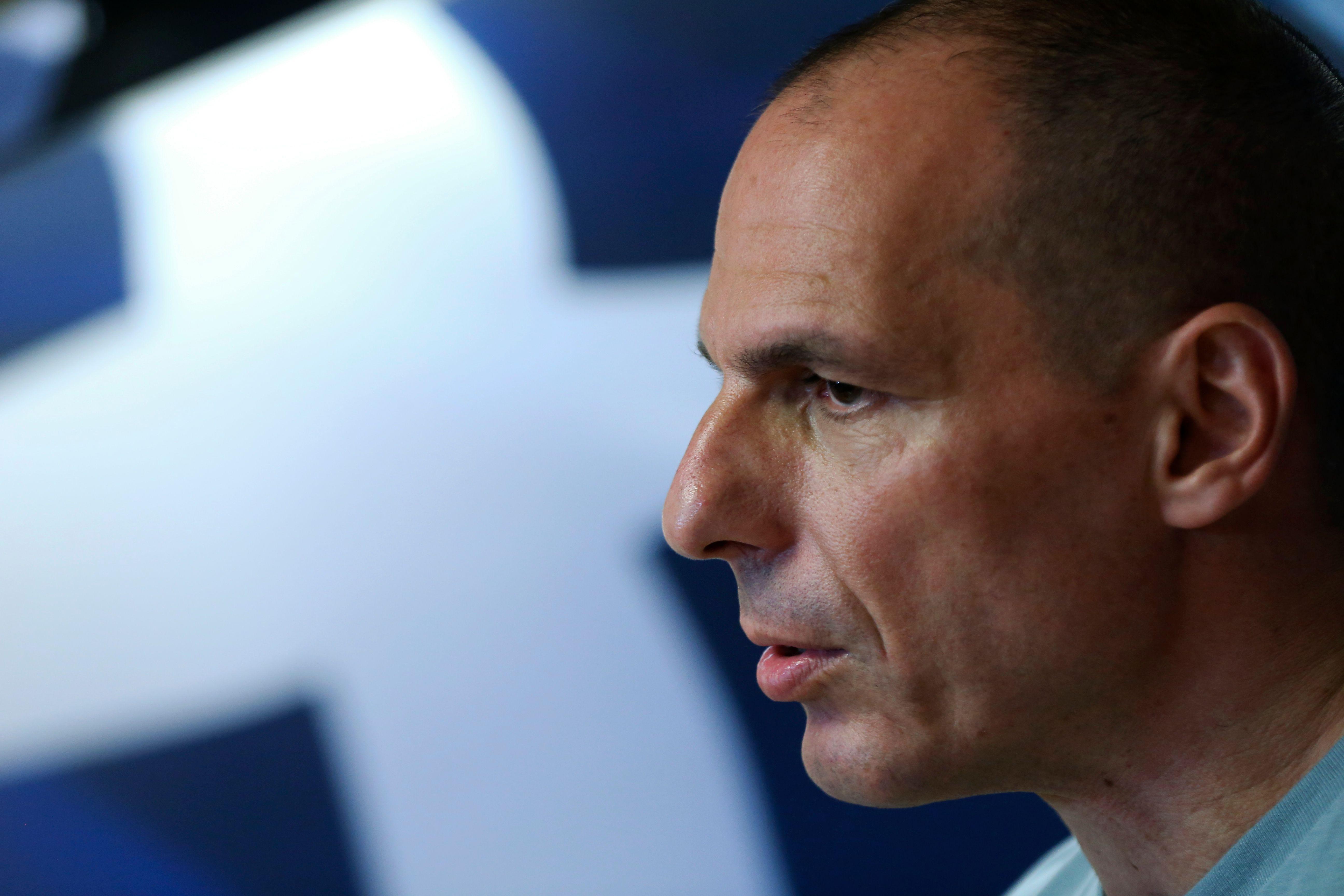 L'ex-ministre grec des Finances, Yanis Varoufakis.
