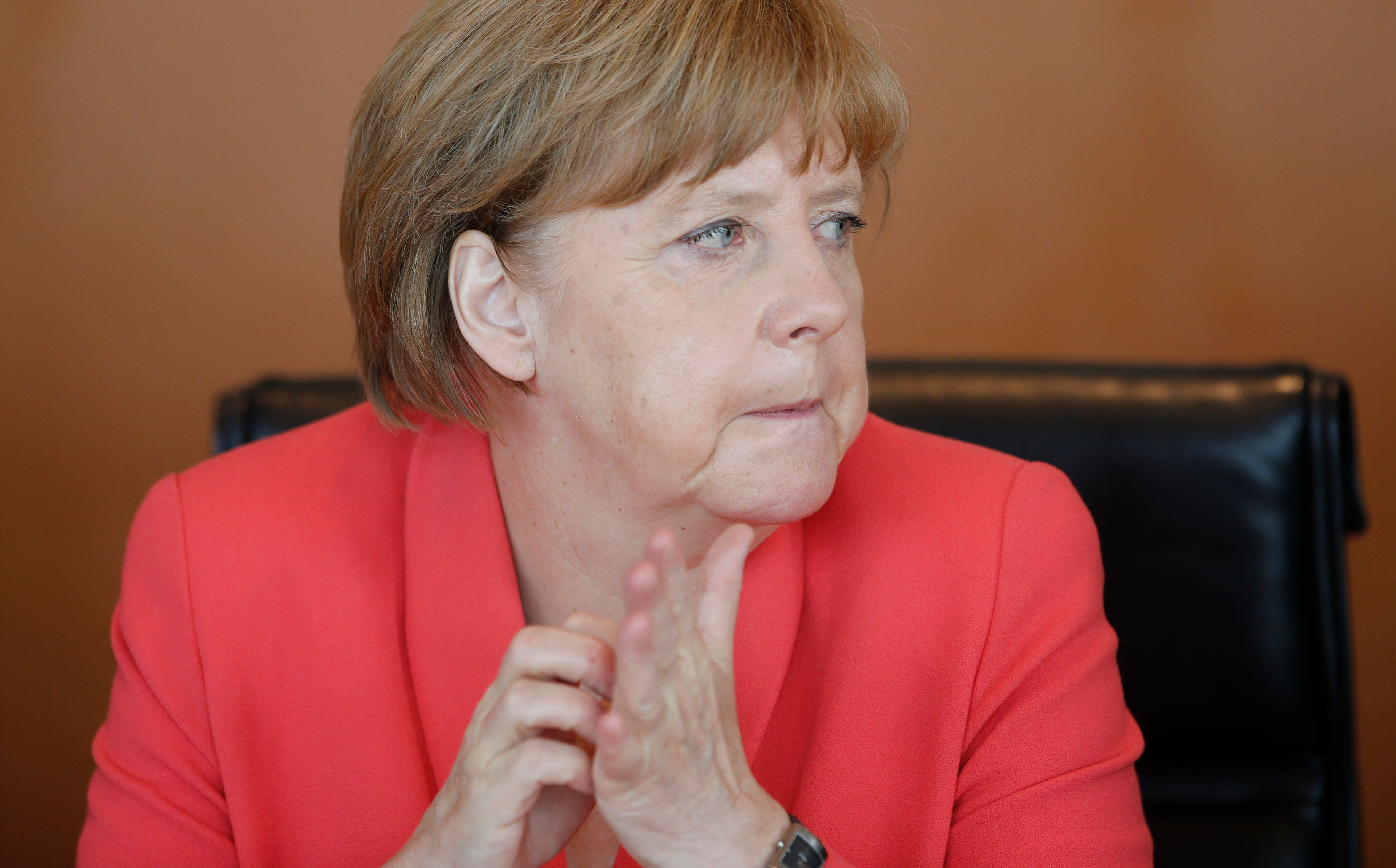 """""""Il doit y avoir des conséquences"""", estime la chancelière allemande."""