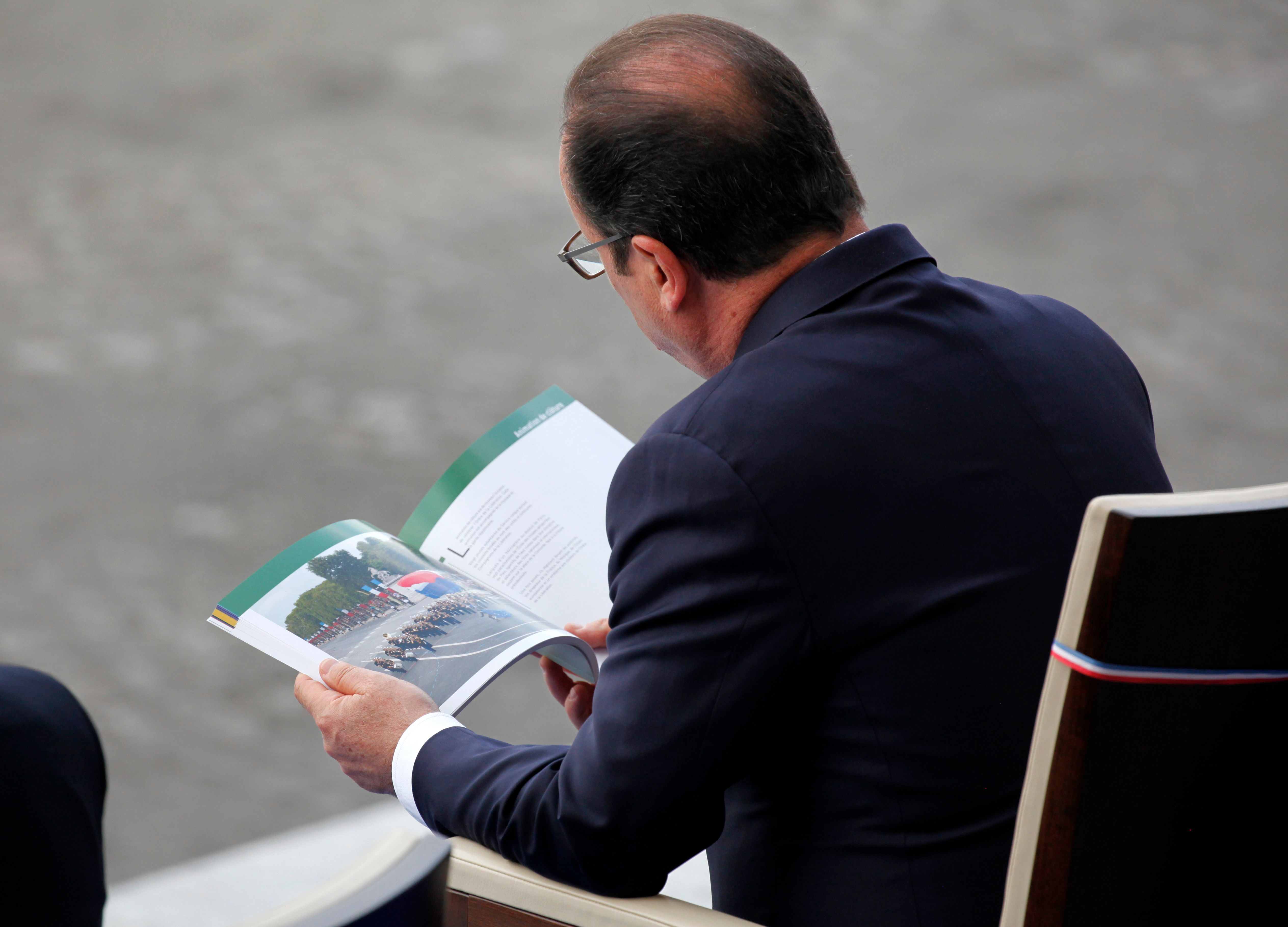 François Hollande maintient son impopularité