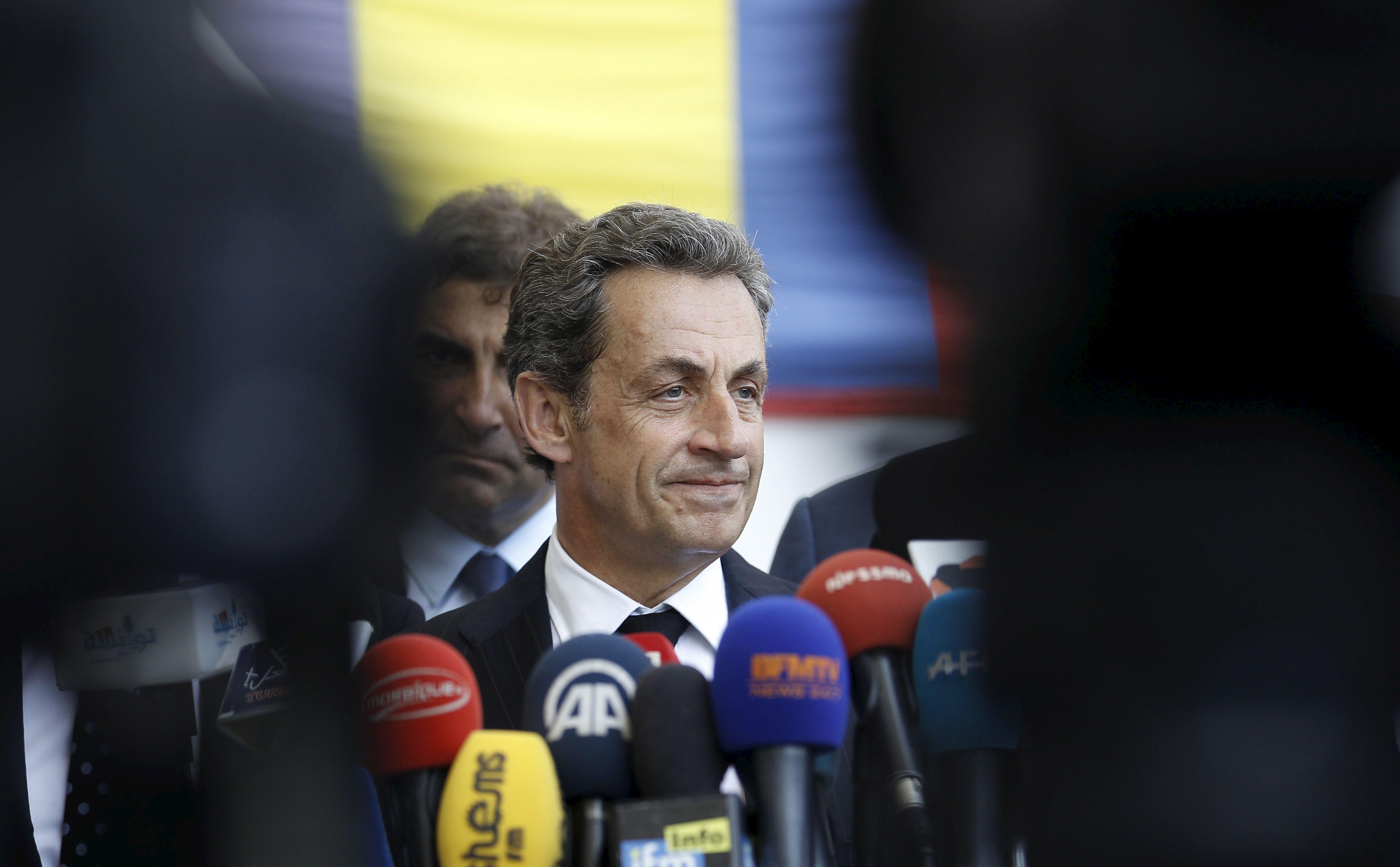 """Nicolas Sarkozy sur la crise des migrants : """"On ne peut pas accueillir tout le monde"""""""