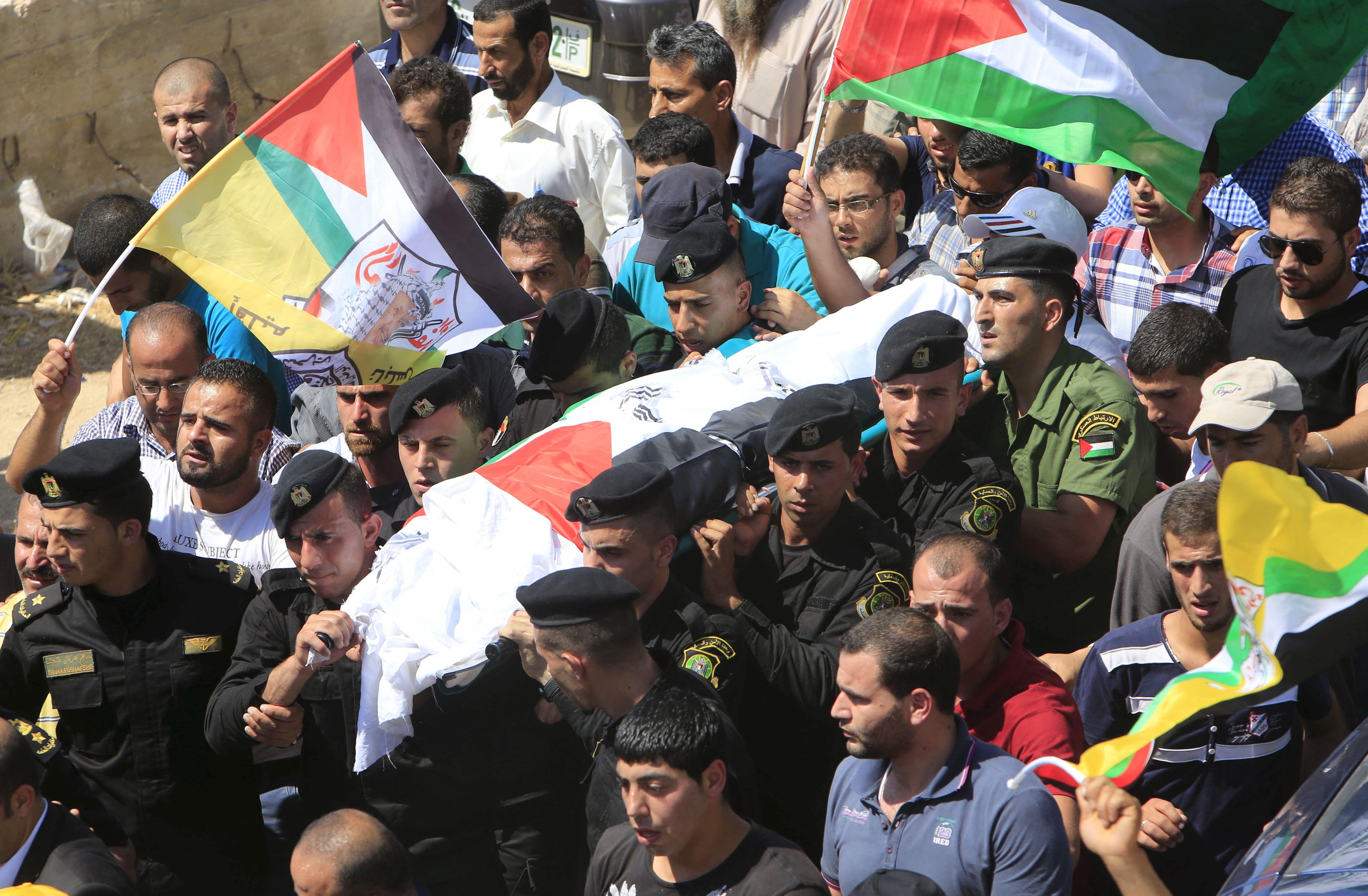 La mort de Saad Dawabsheh avait provoqué la colère des Palestiniens.