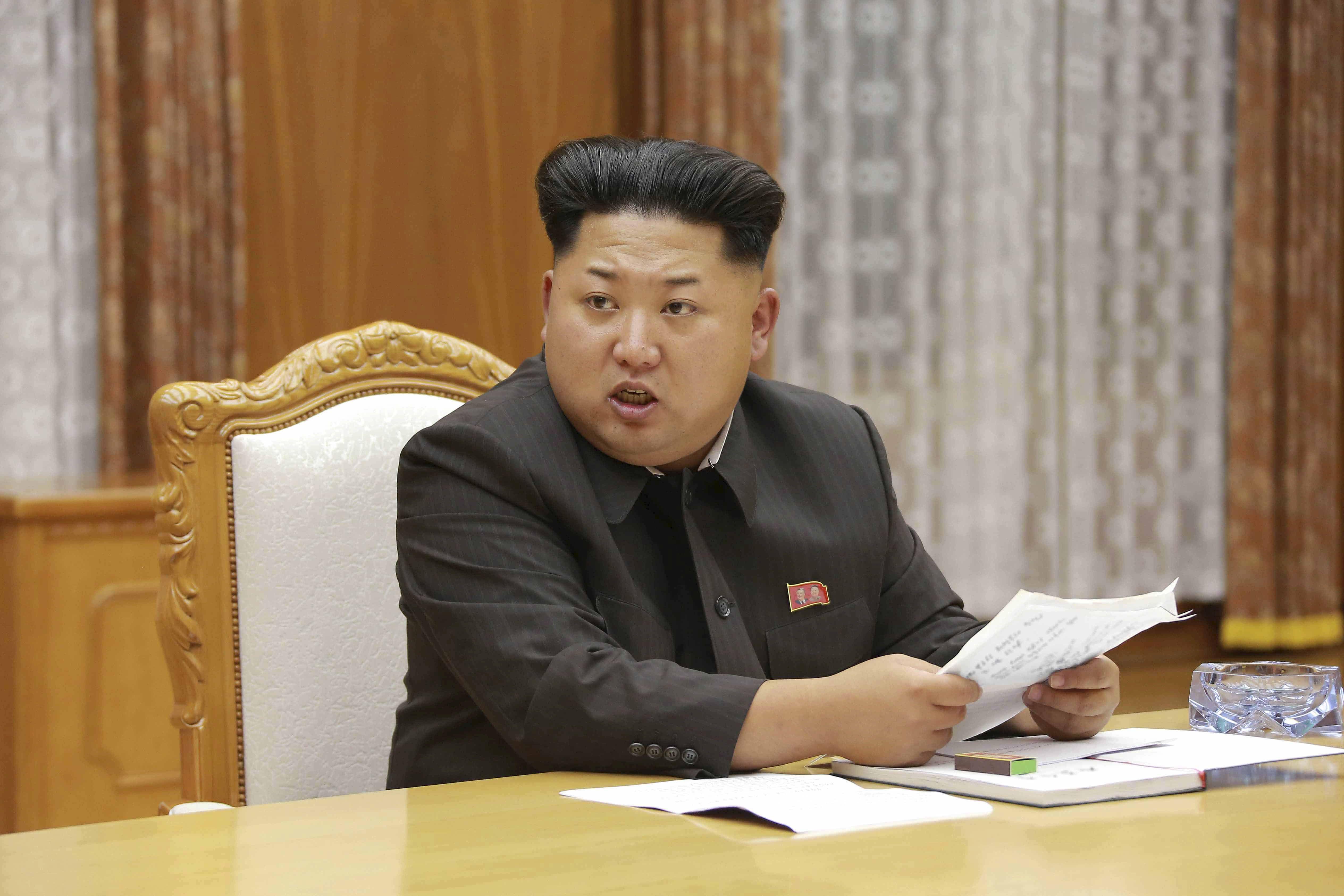 Kim Jong-hun, président de la Corée du Nord.