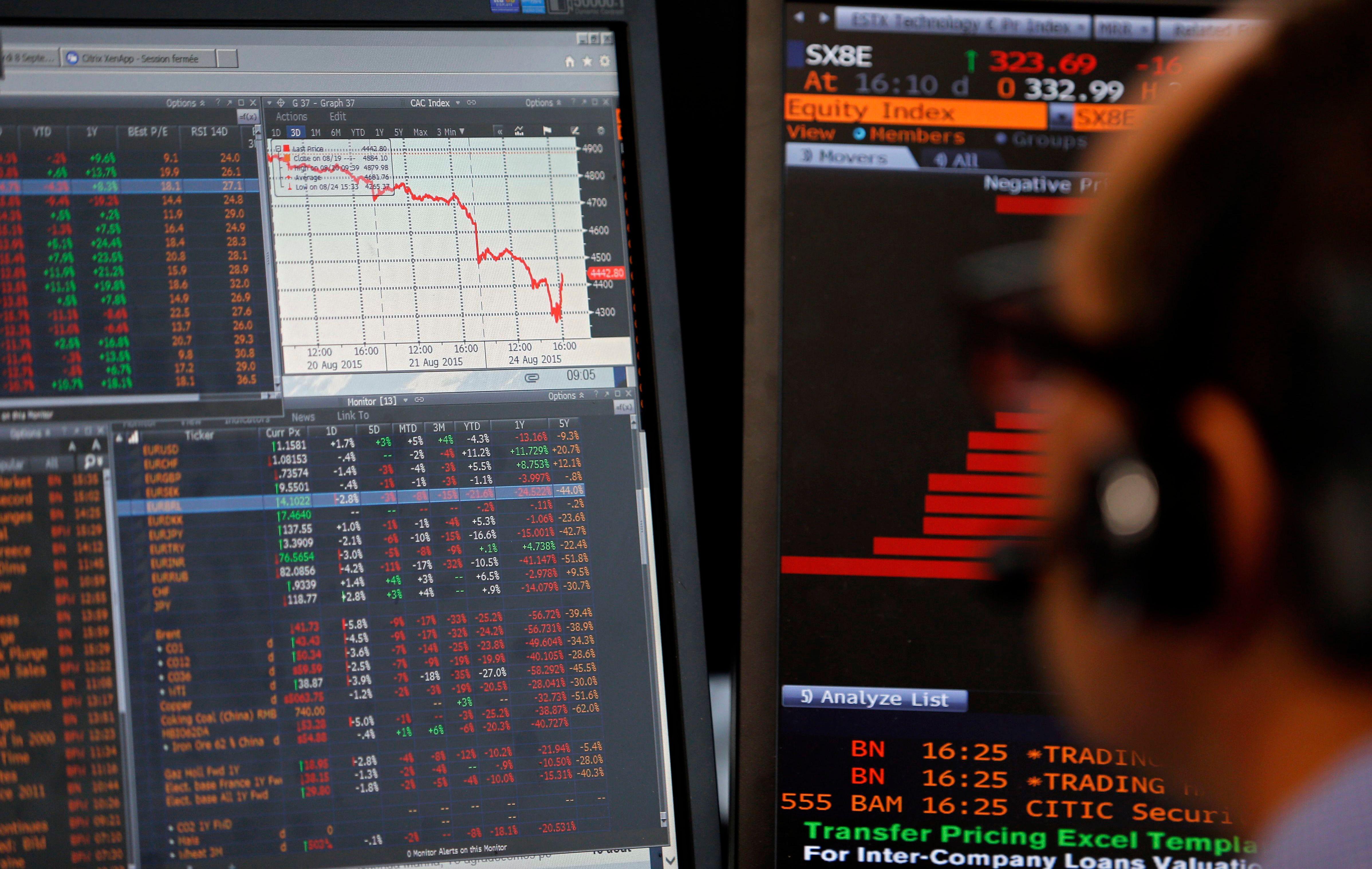 -25% pour le CAC 40 en 12 mois : combien de temps avant que l'économie réelle en subisse les conséquences ?