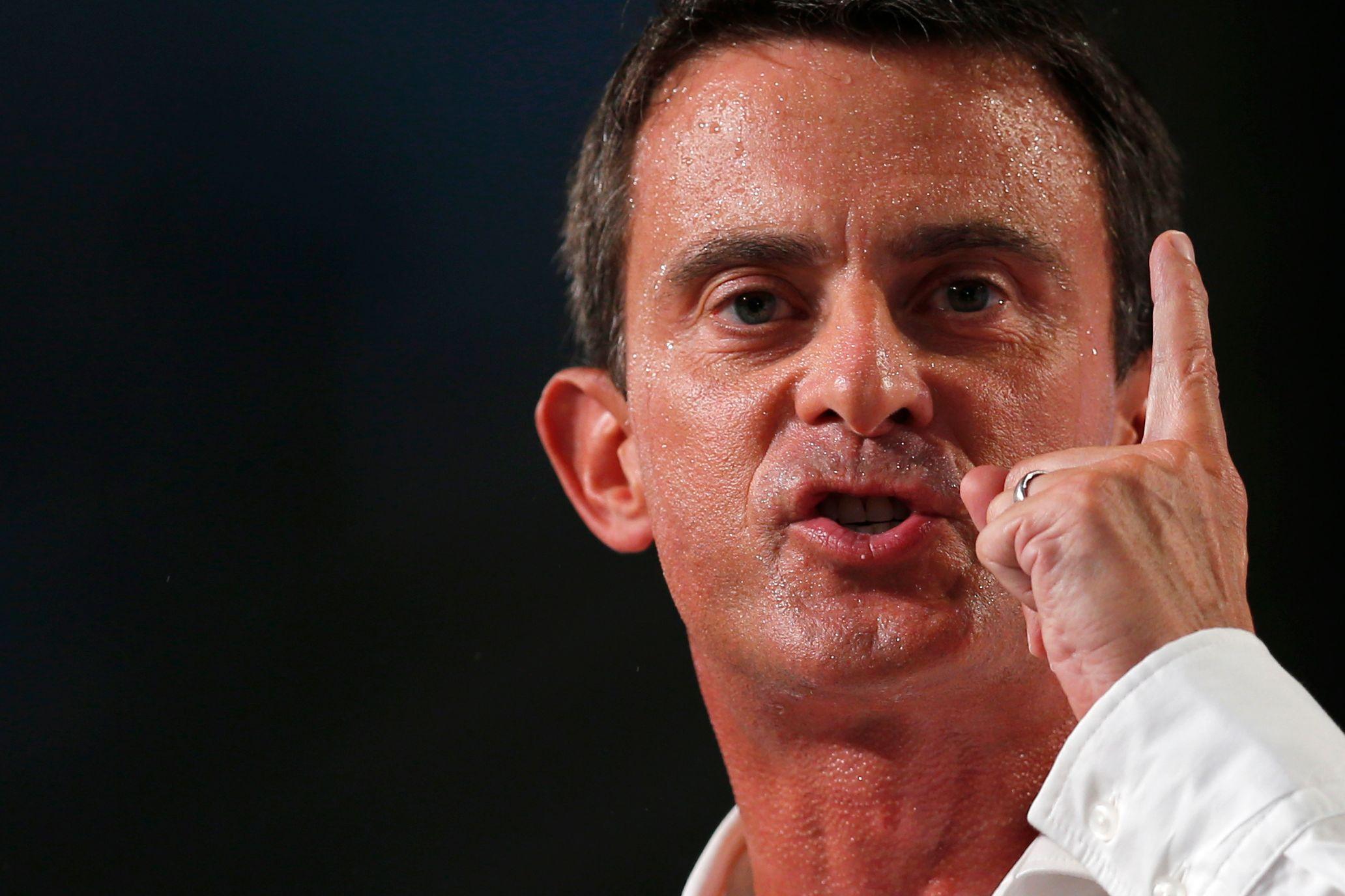 """Manuel Valls : """"Ma conception de l'autorité de l'Etat est aux antipodes de celle de Nicolas Sarkozy"""""""