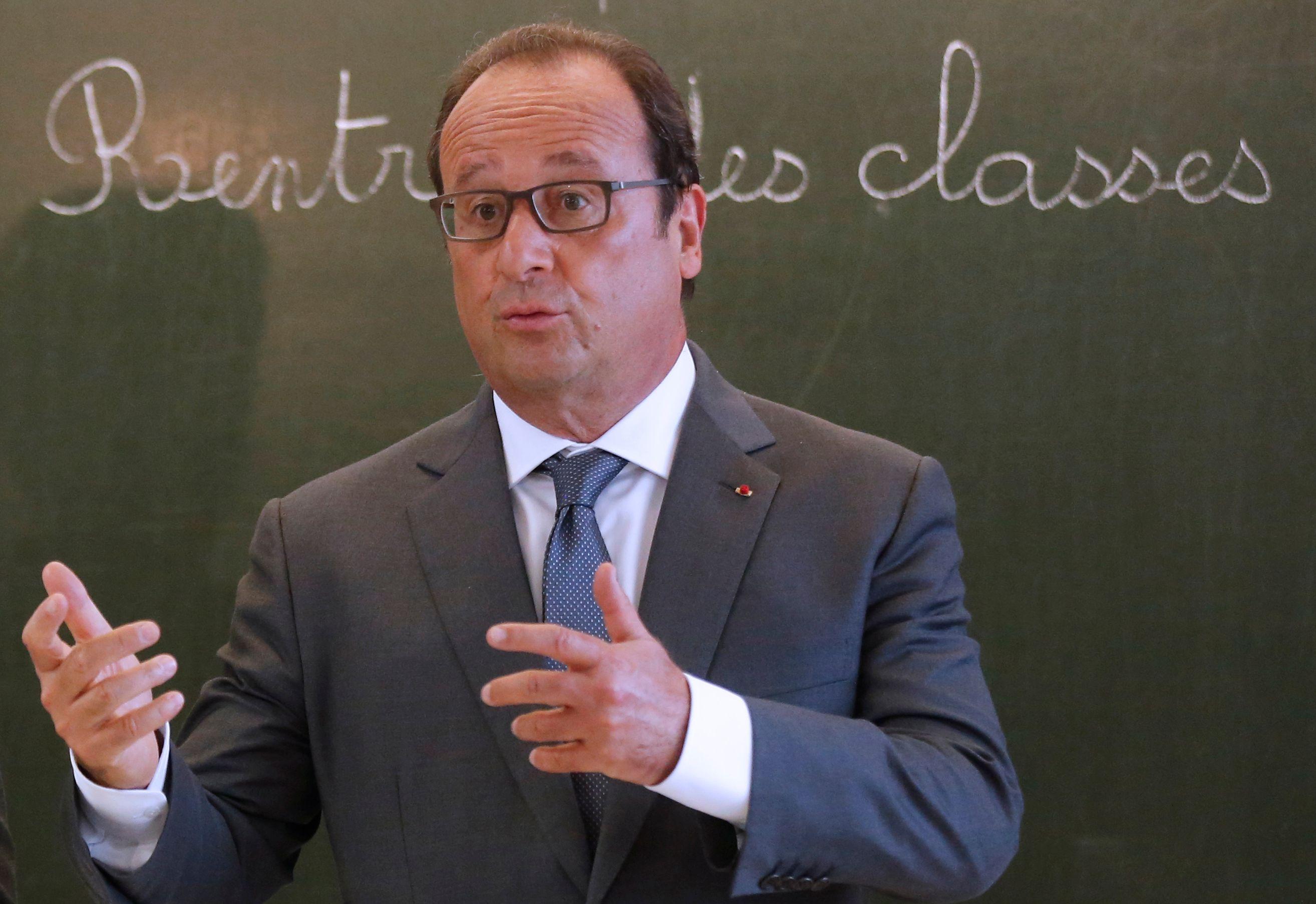 Discours alambiqué et truffé de fautes : François Hollande parle-t-il français ?