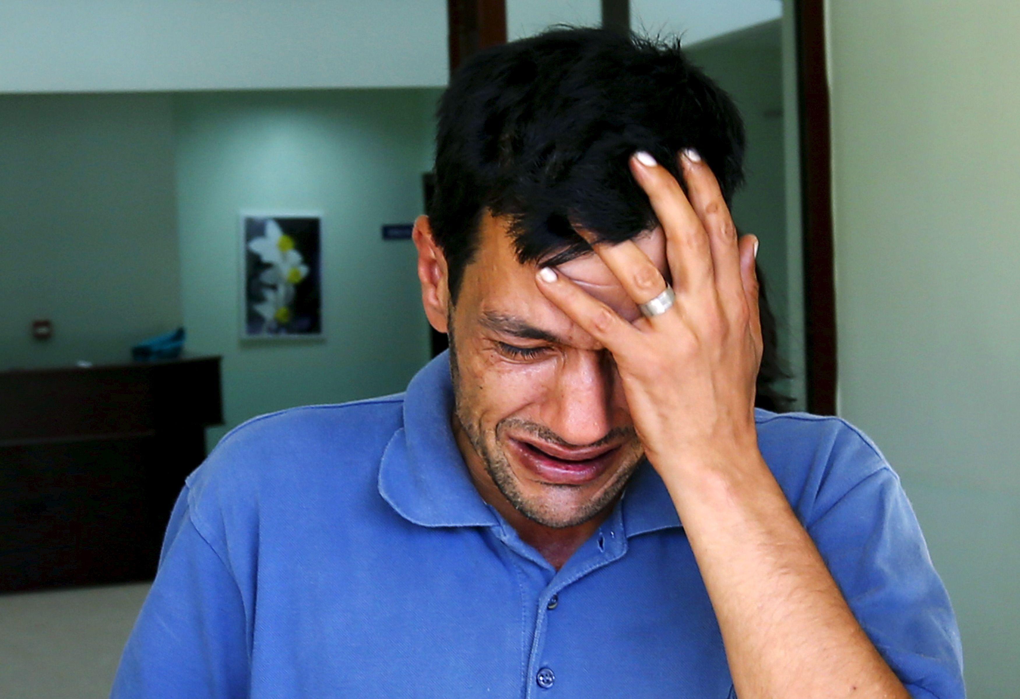 Le père du petit Aylan Kurdi, retrouvé mort sur une plage turque.