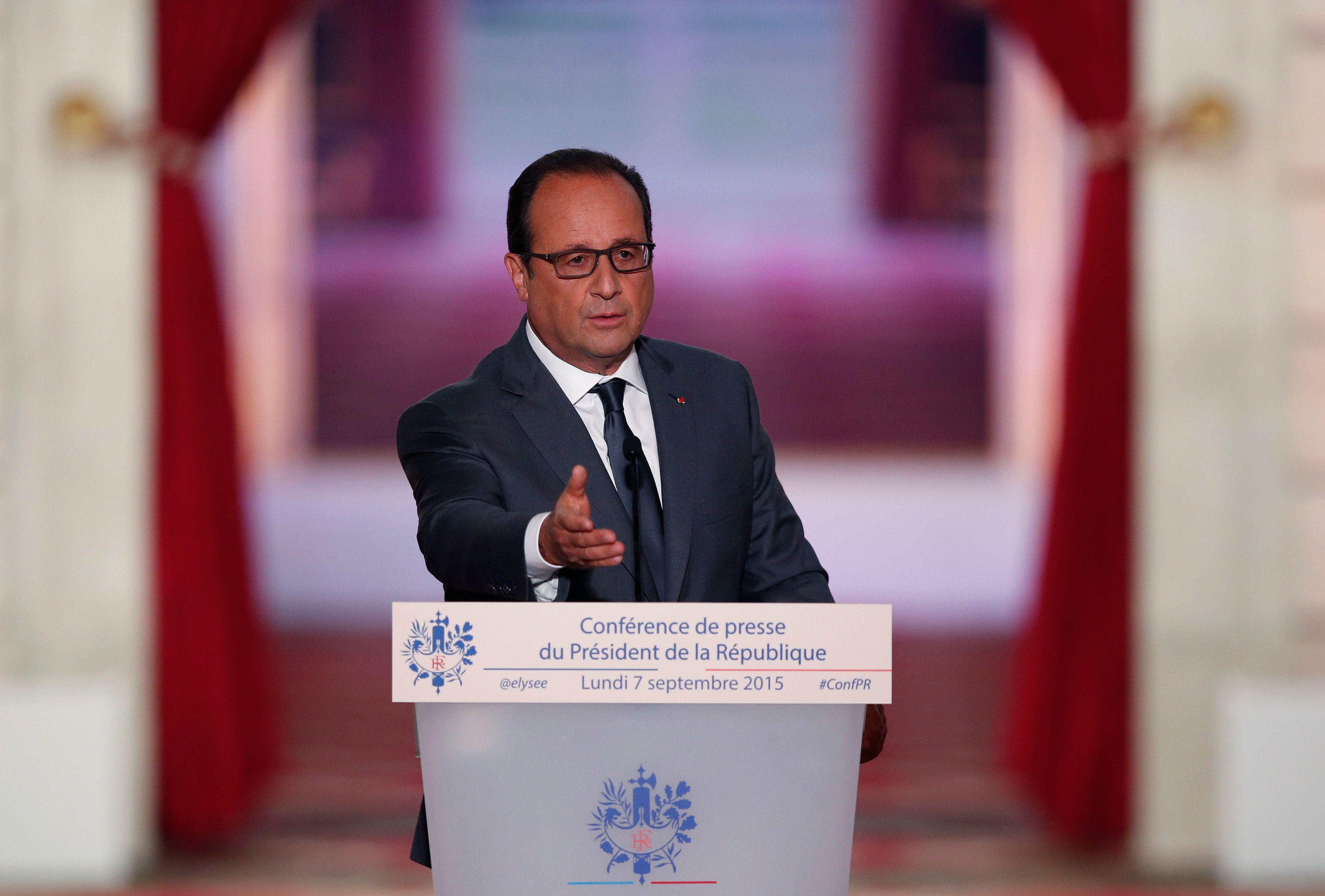 Conférence de presse de François Hollande : ce qu'il faut retenir des annonces sur la fiscalité, sur l'EI et sur les migrants