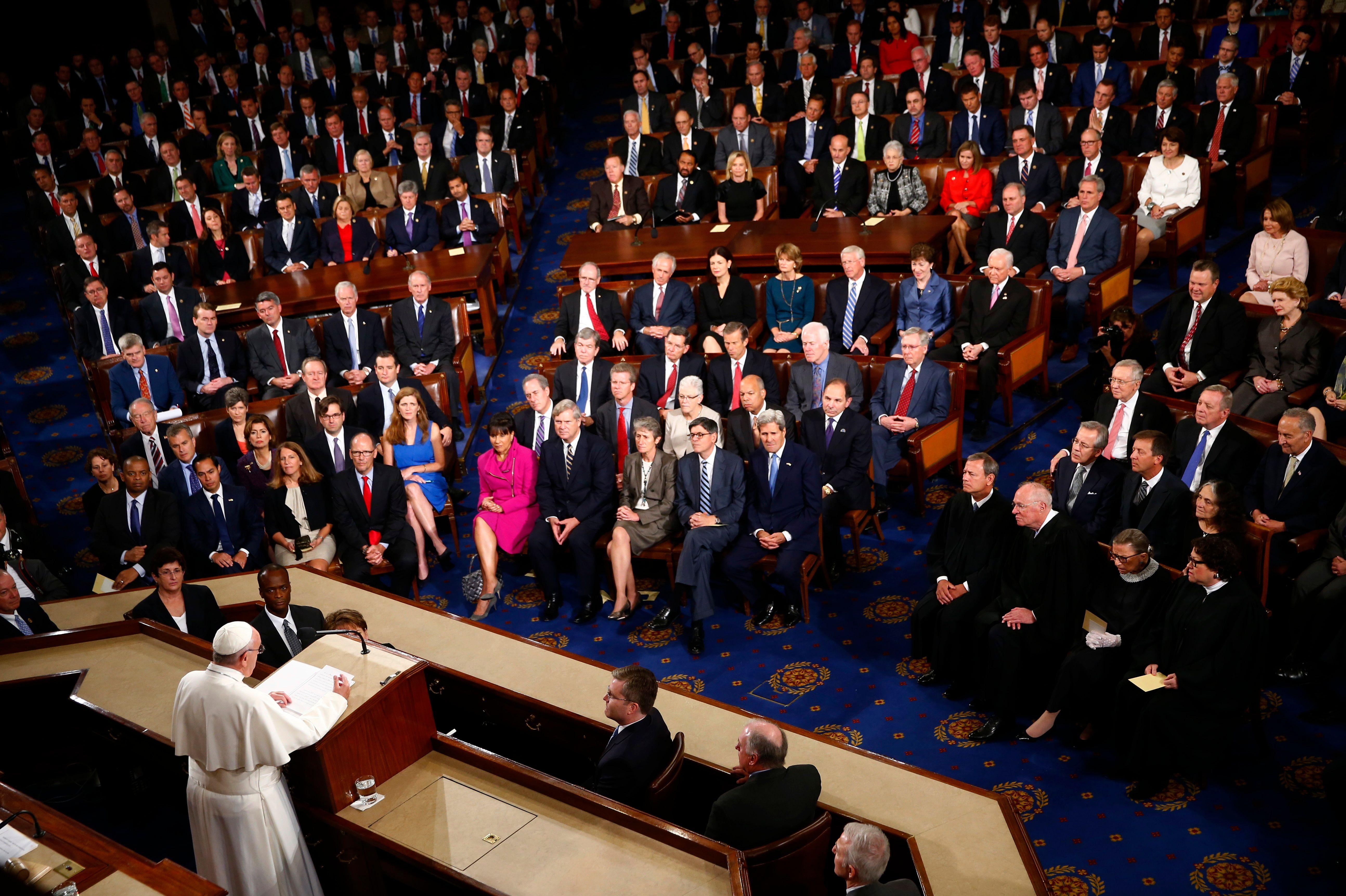 """Le pape François a appelé jeudi à la vigilance contre """"tout type de fondamentalisme""""."""