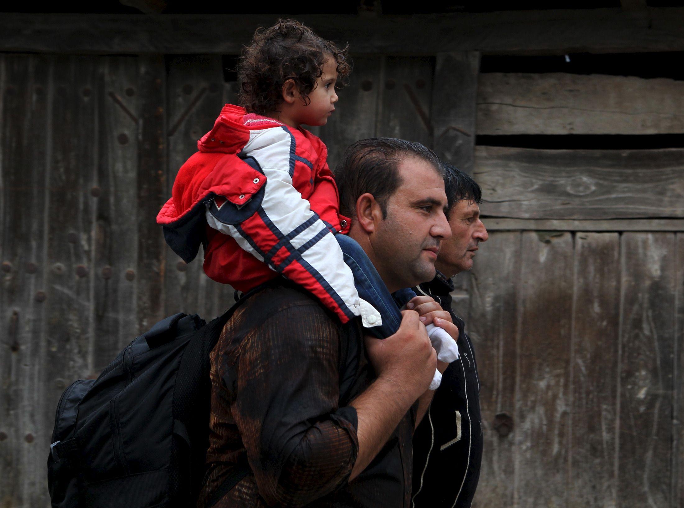 """Migrants : le président tchèque dénonce l'utilisation d'enfants comme """"boucliers humains"""""""