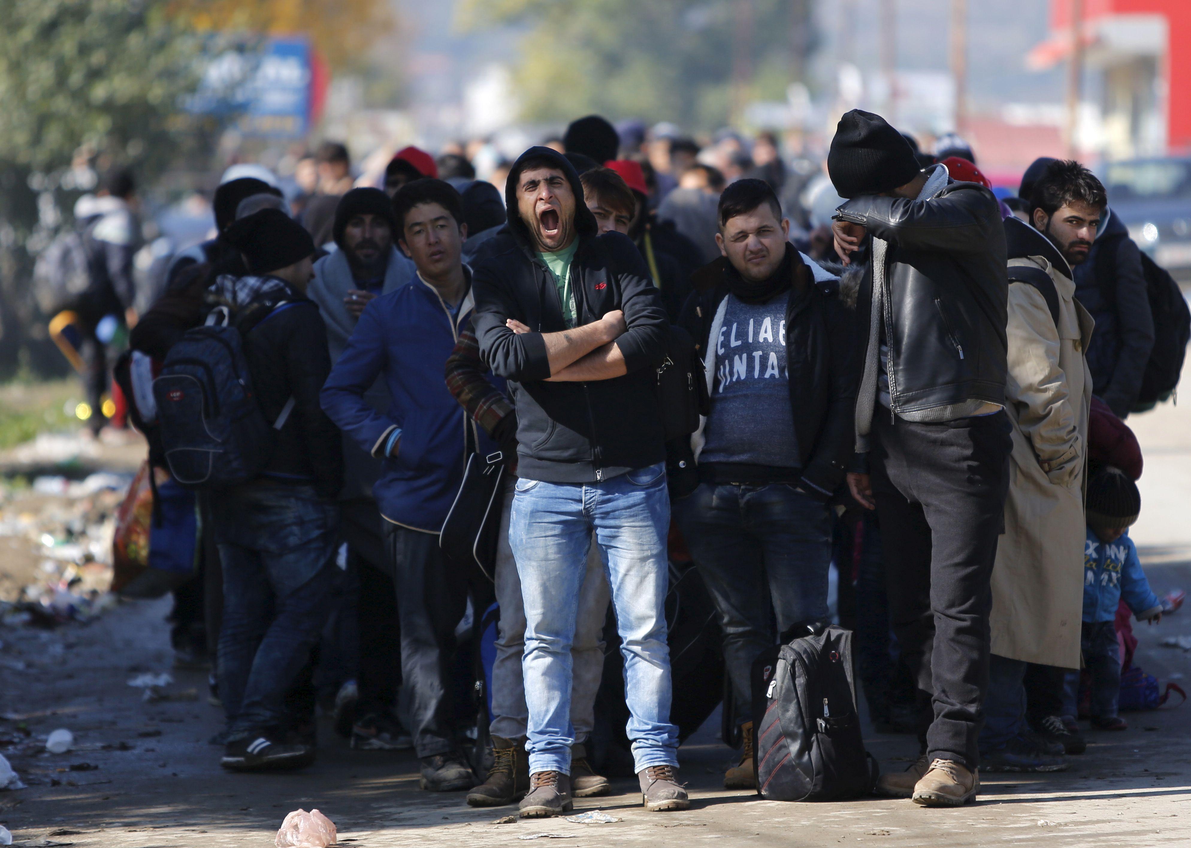 Au moins 800.000 migrants sont attendus cette année en Allemagne.