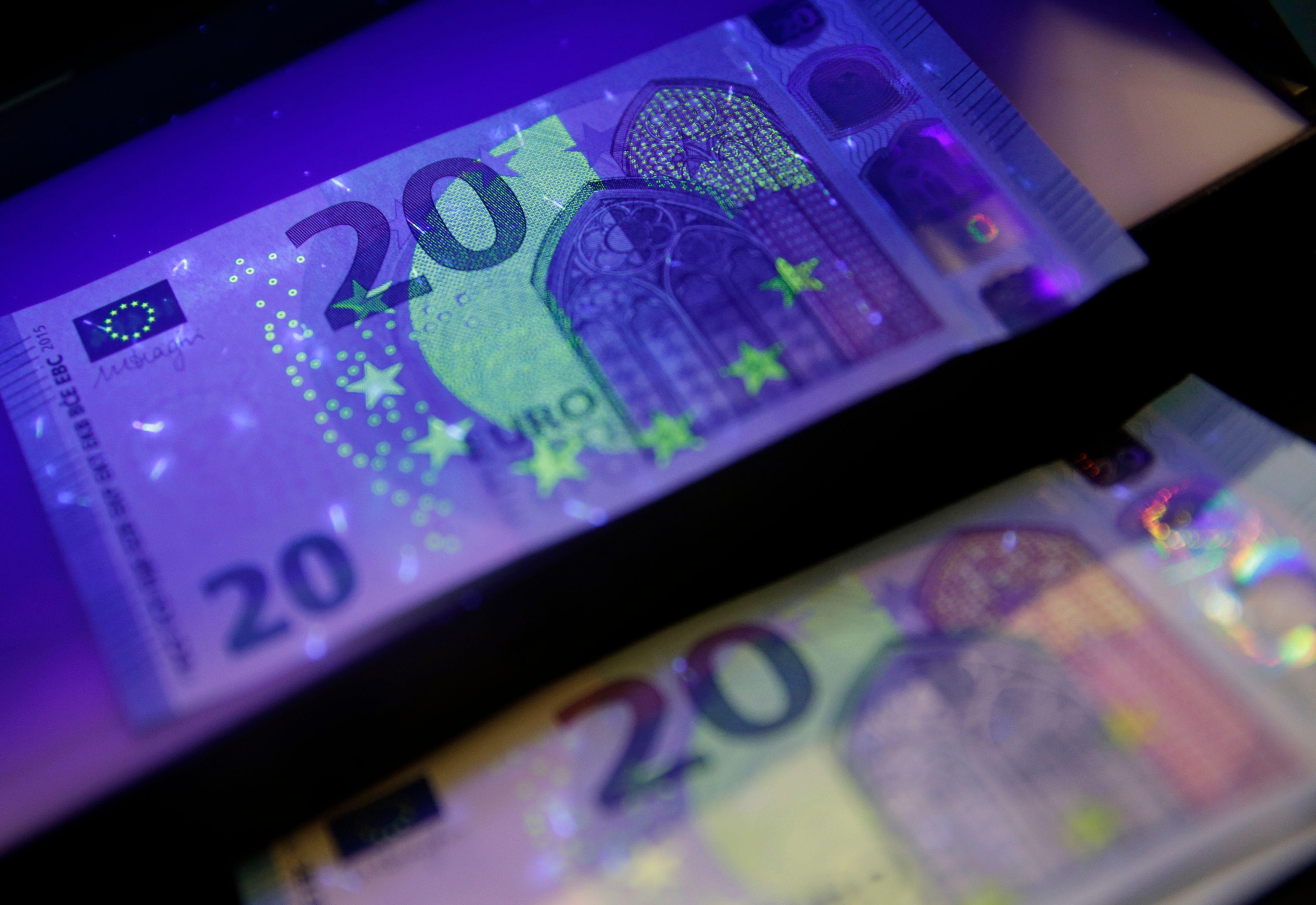 La BCE présente le nouveau billet de 20 euros