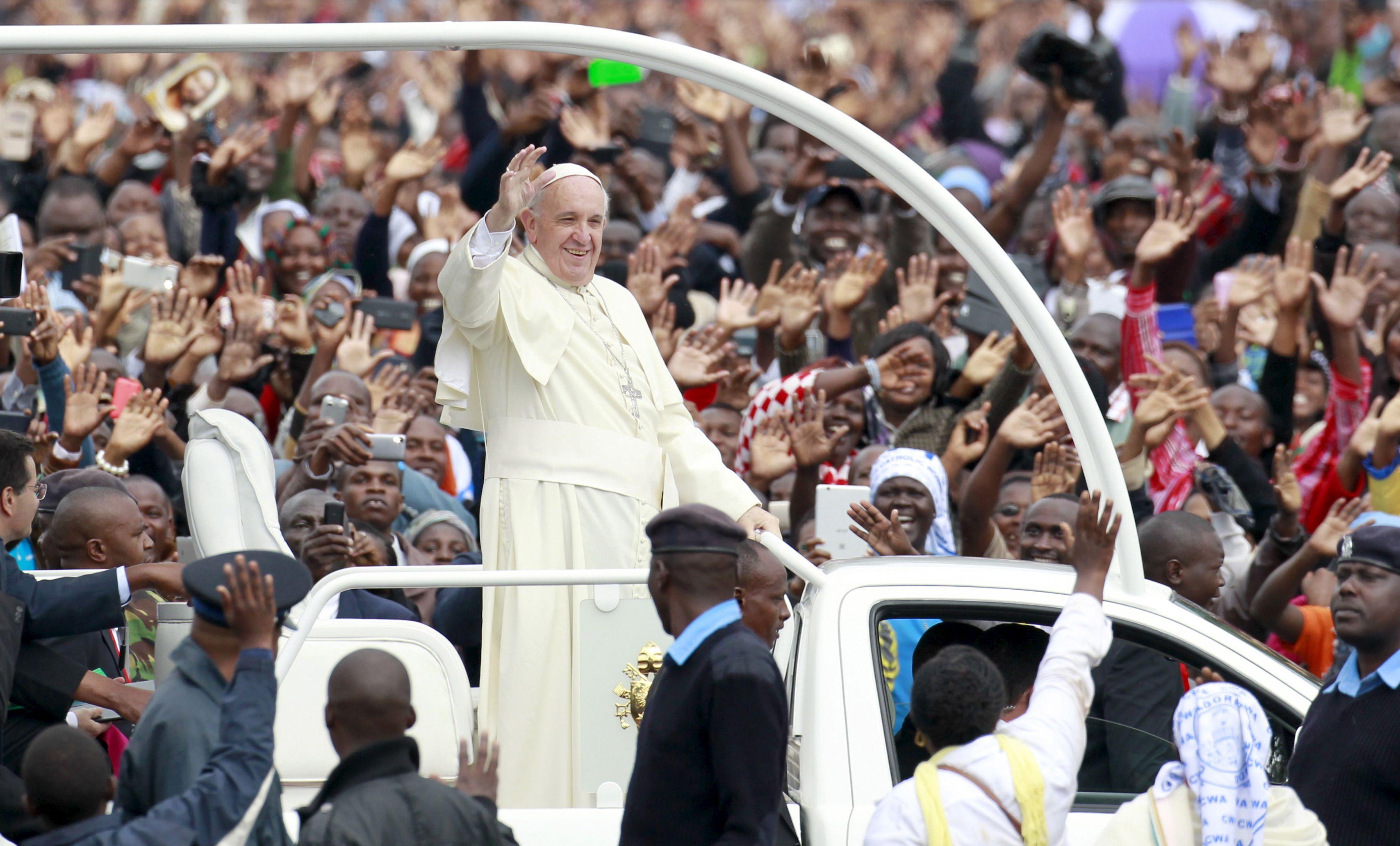 Pour la première visite en Afrique de son pontificat, le pape François se rend au Kenya, puis en Ouganda (27-29) et enfin en République centrafricaine.