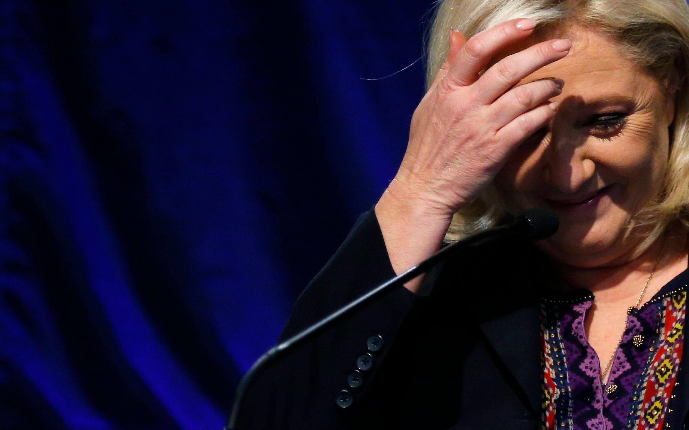 (Seuls?) 55% des Français ont encore/toujours peur de Marine Le Pen
