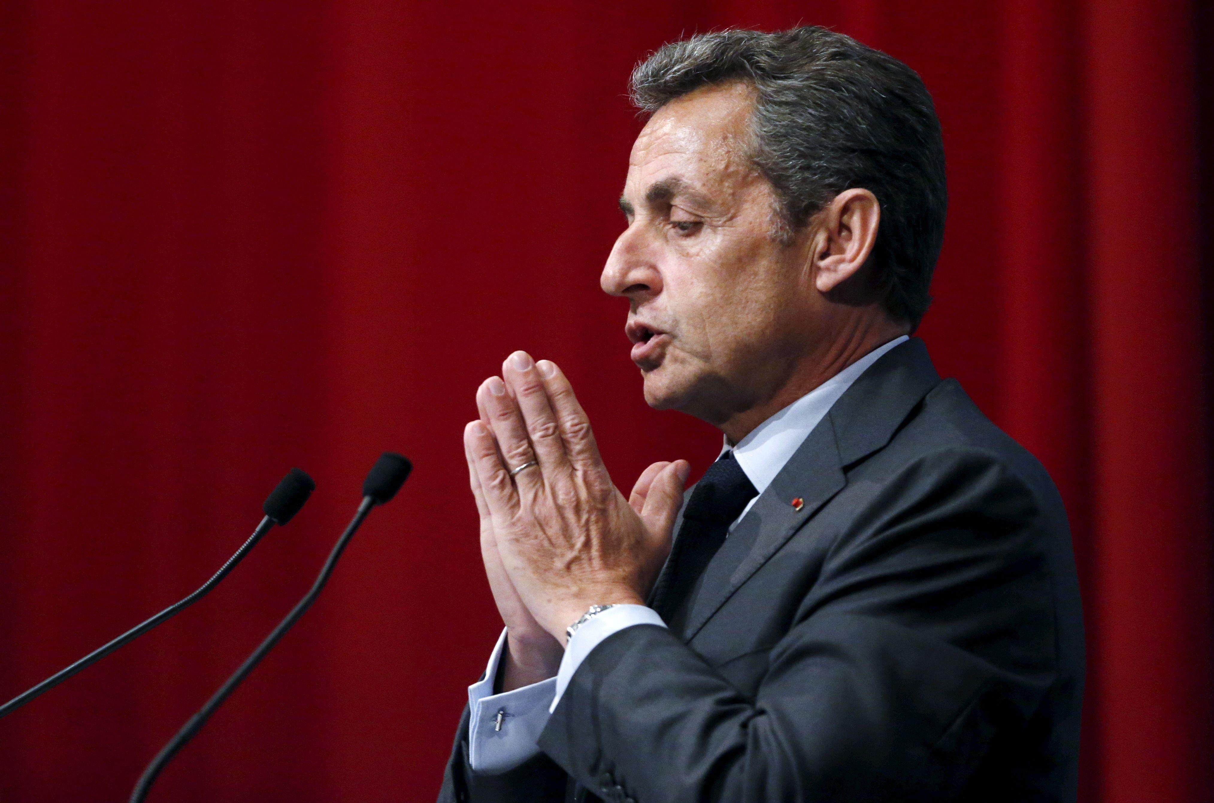 """Nicolas Sarkozy lance sa webradio, """"Fréquence France"""""""