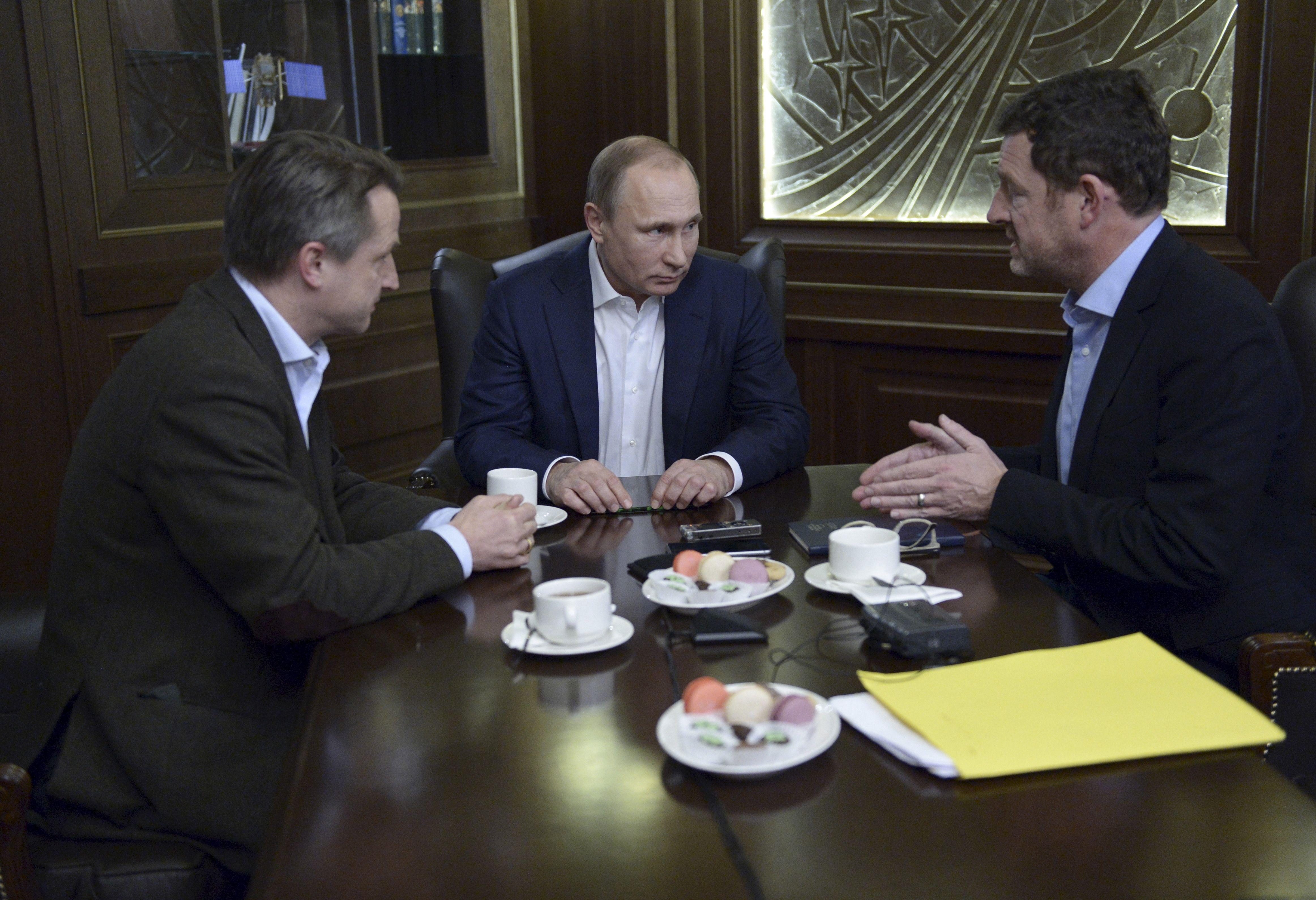 Vladimir Poutine a accordé une interview fleuve dans le magazine allemand Bild.