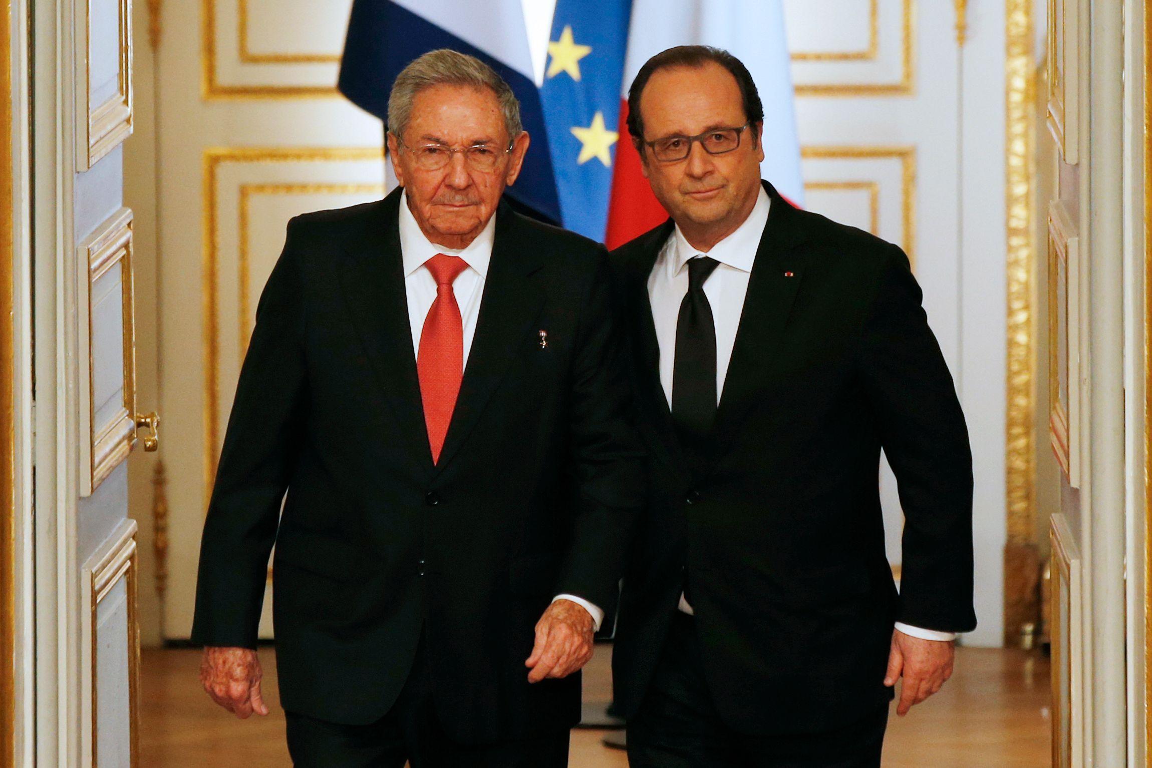 """Cuba : François Hollande appelle les Etats-Unis à lever l'embargo """"jusqu'au bout"""""""