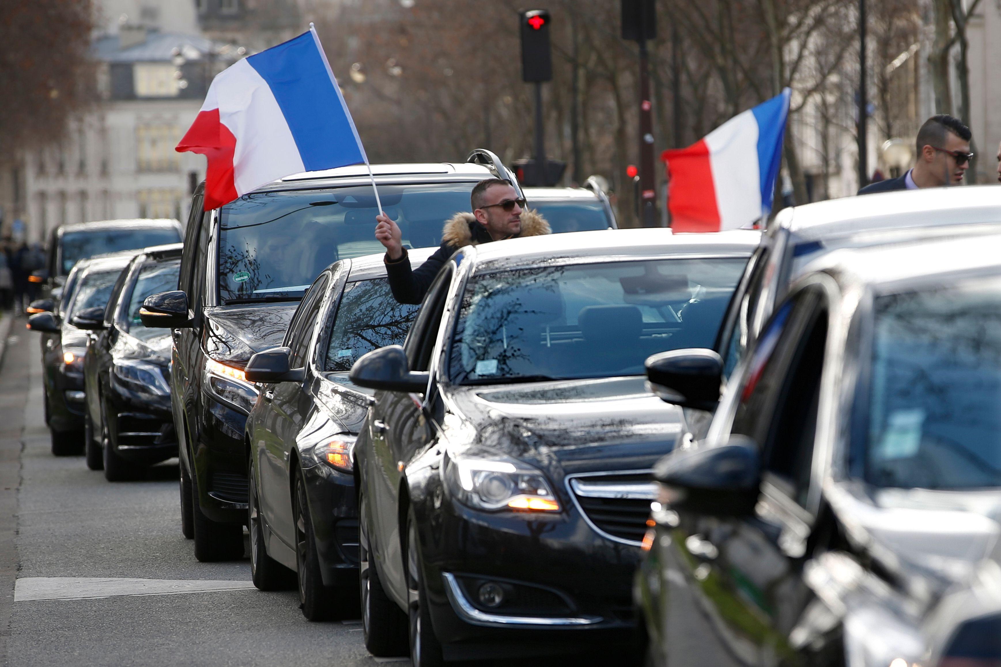 VTC : nouveaux blocages des aéroports parisiens par des chauffeurs en colère