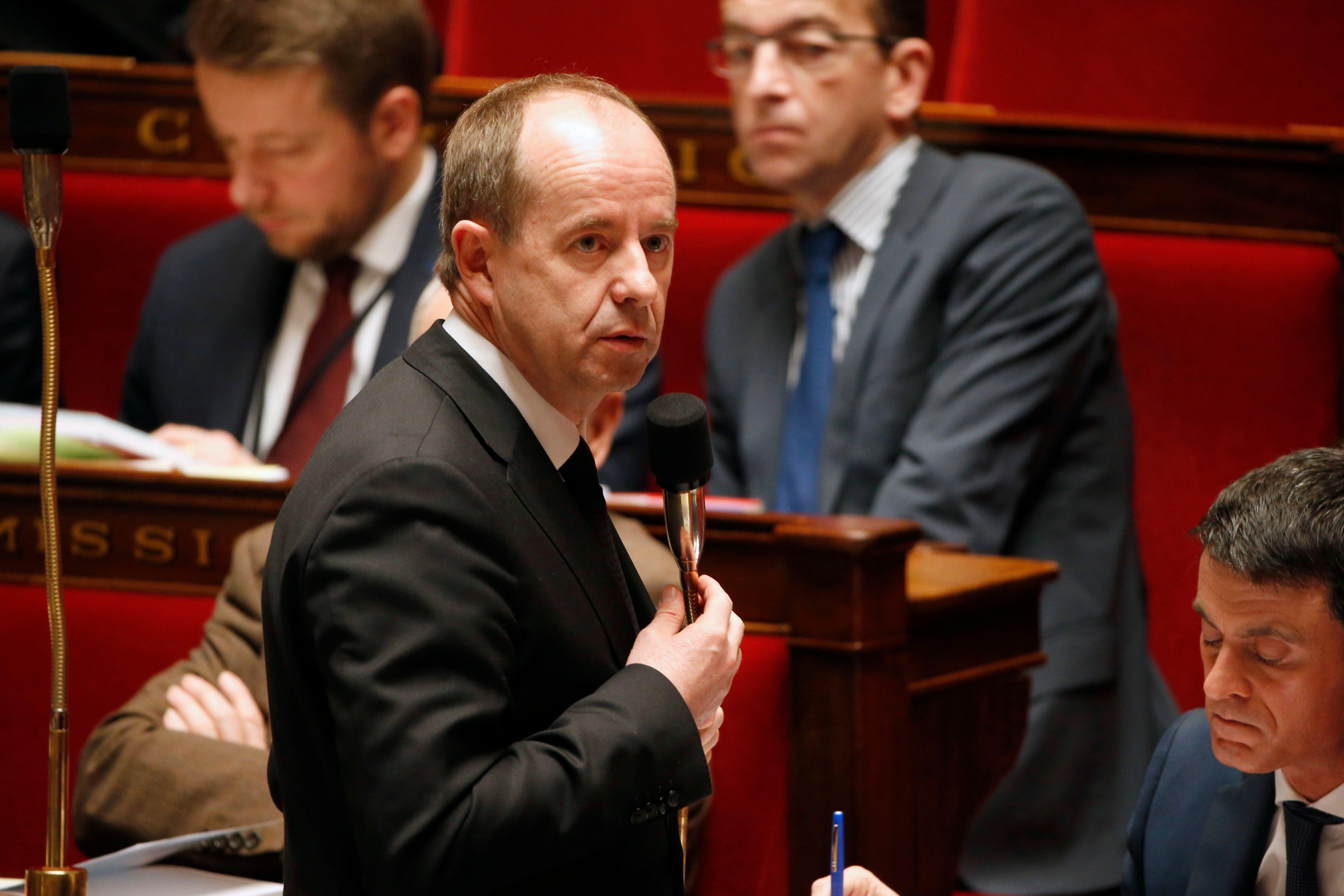 Le garde des Sceaux, Jean-Jacques Urvoas.