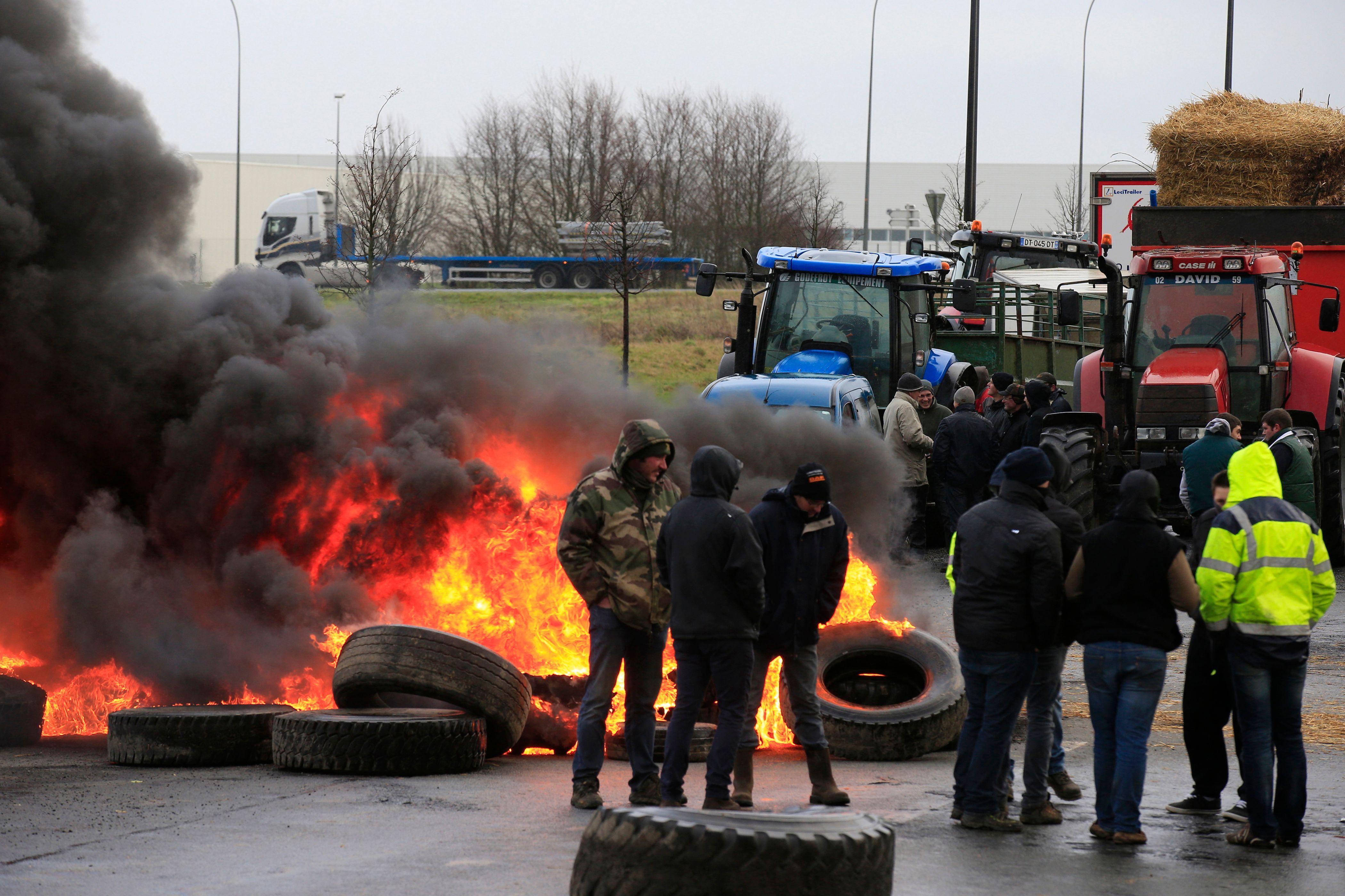 Crise des agriculteurs : nouveau blocage à Rennes