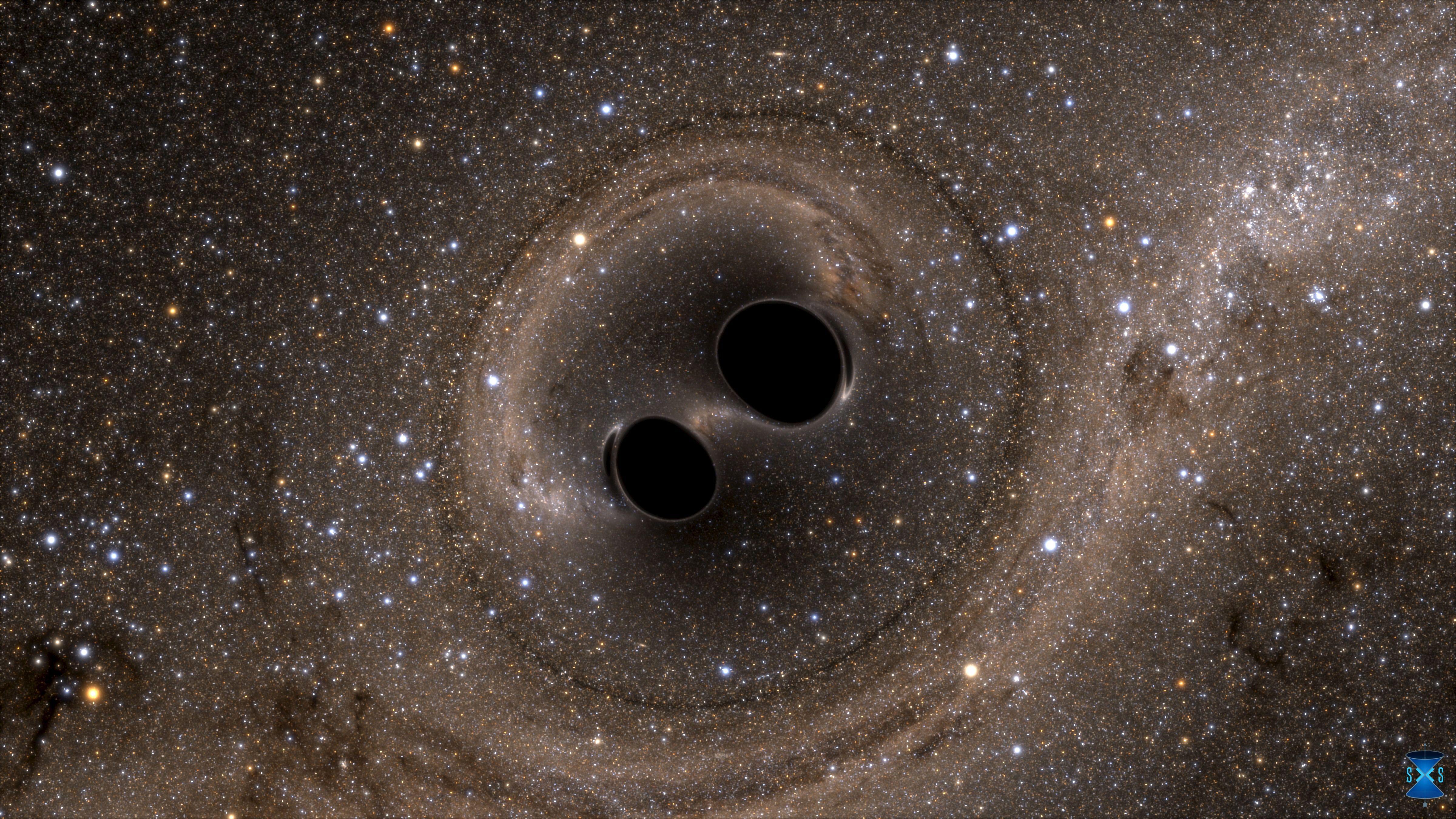 Non, les trous noirs n'absorbent pas tout : ils relâchent de la lumière invisible à l'œil nu