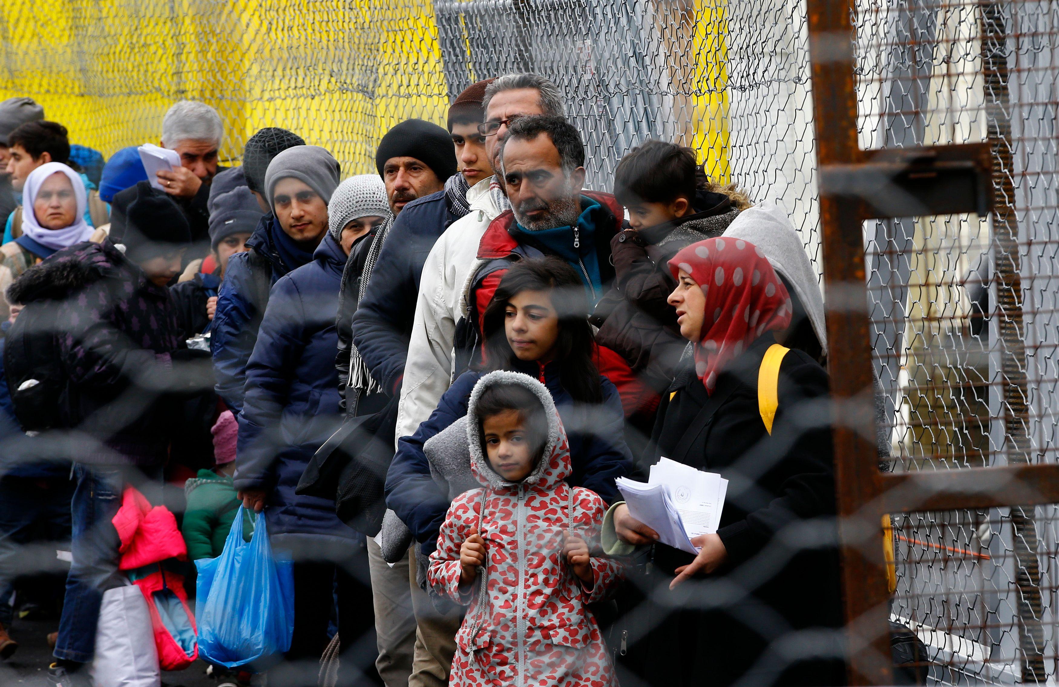 90% des migrants victimes d'un réseau criminel