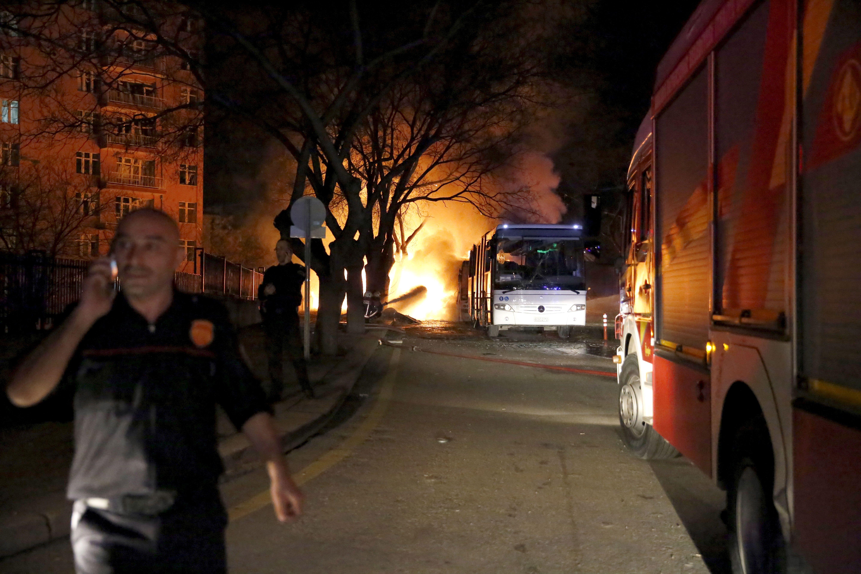 L'attentat du 17 février à Ankara.