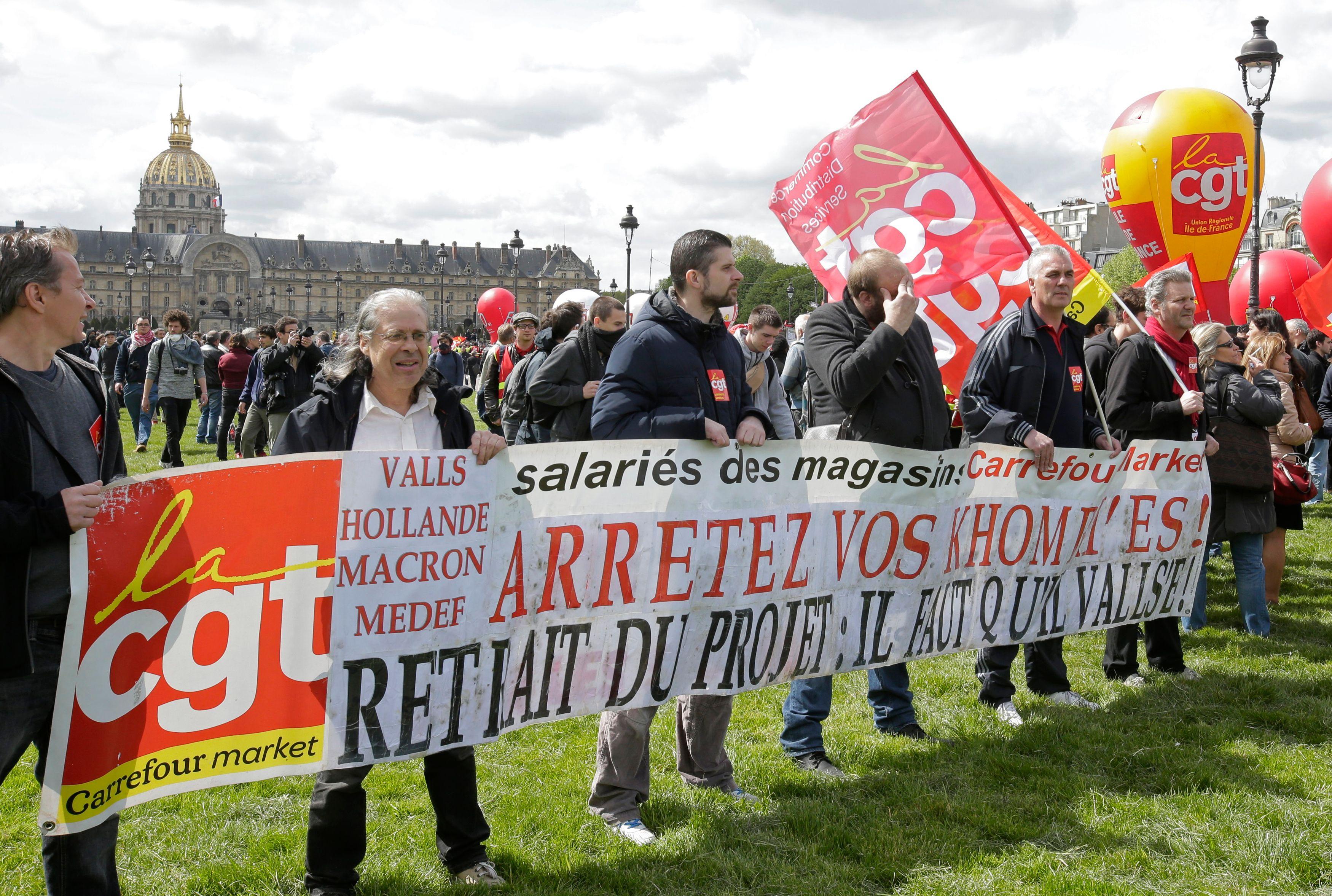 Dans les coulisses des relations entre Macron et les syndicats