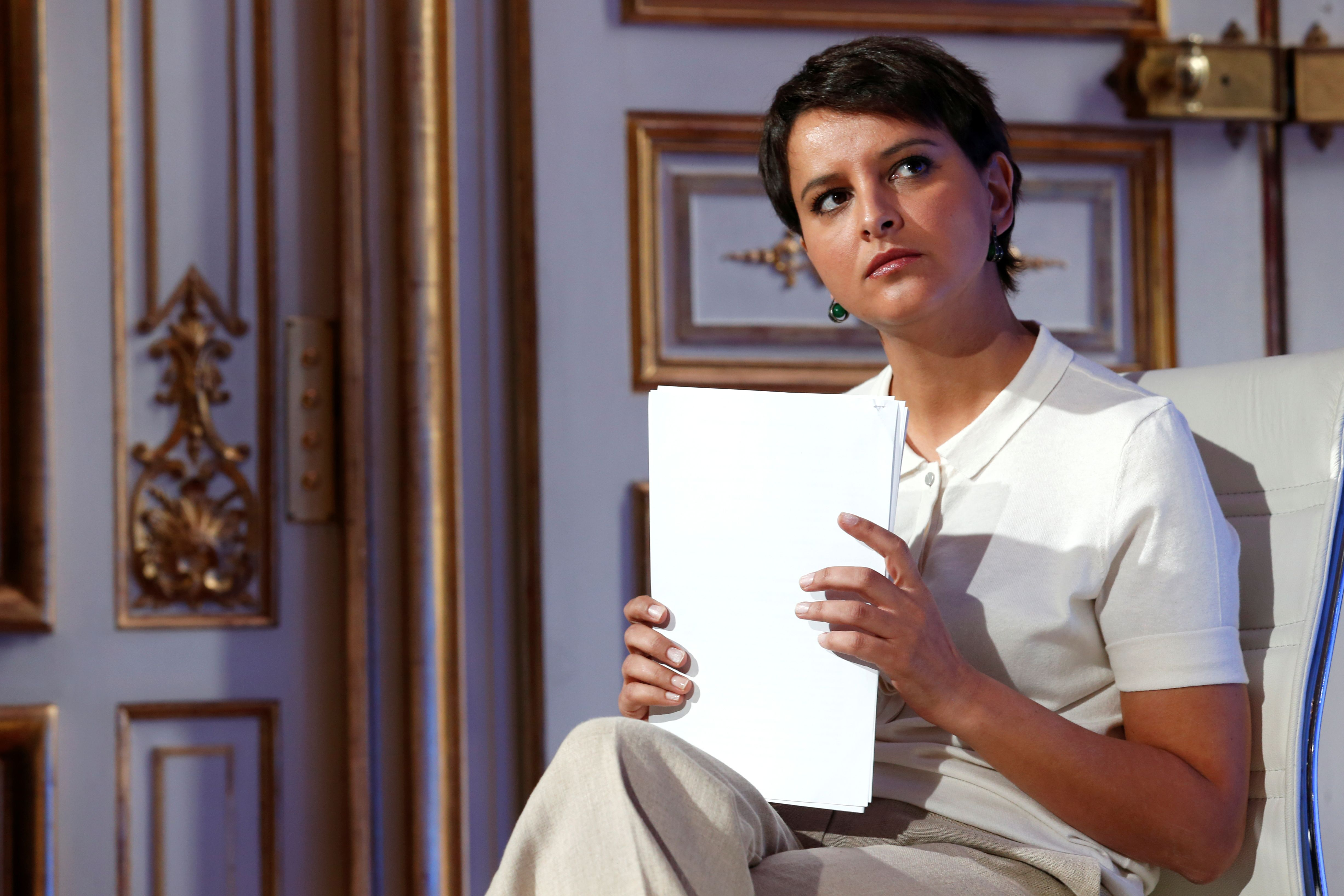 Parti socialiste : Najat Vallaud-Belkacem sort du silence