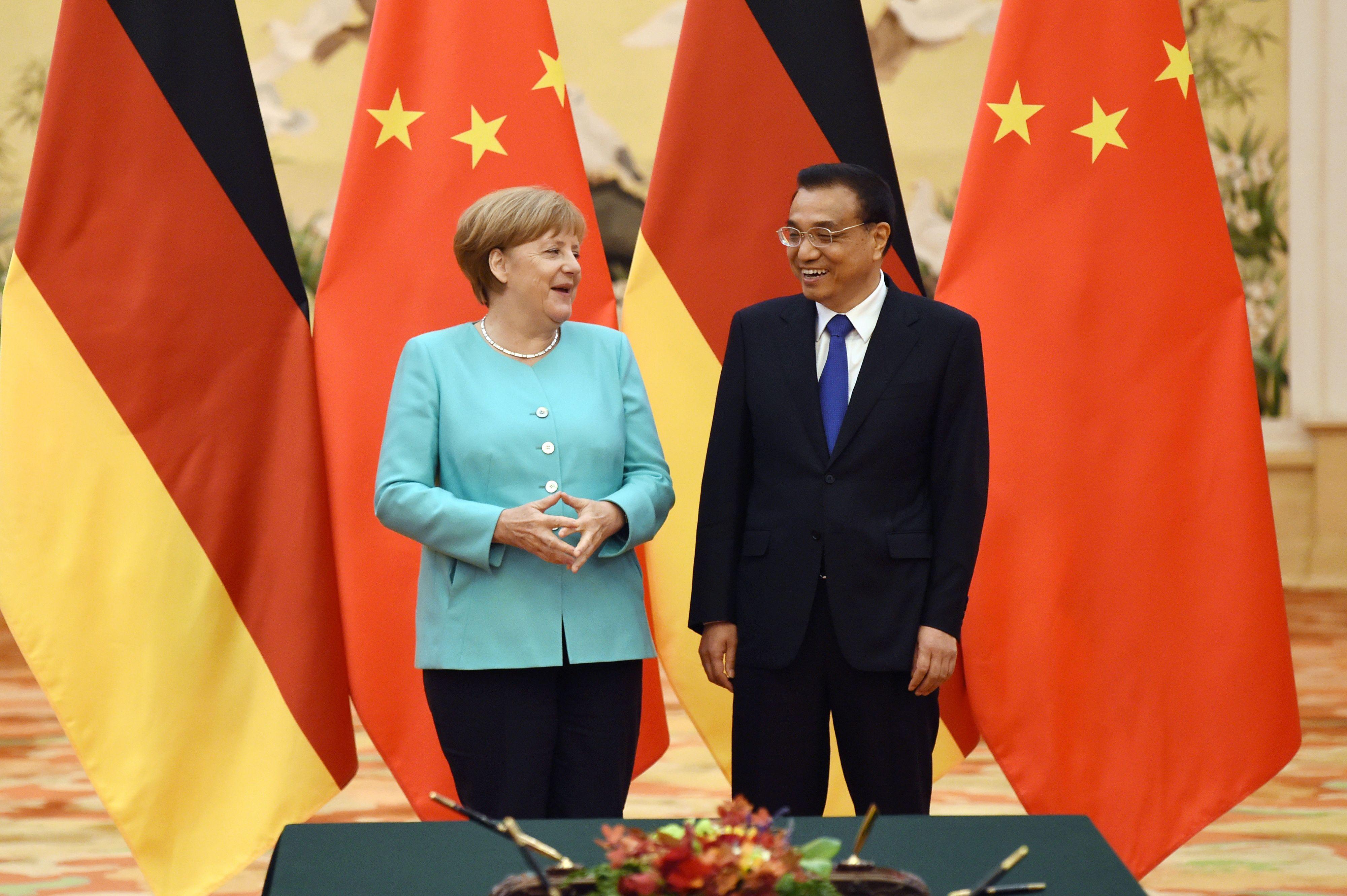 Comment le rapprochement Etats-Unis/Royaume-Uni pourrait bien provoquer celui de l'Allemagne et de la Chine