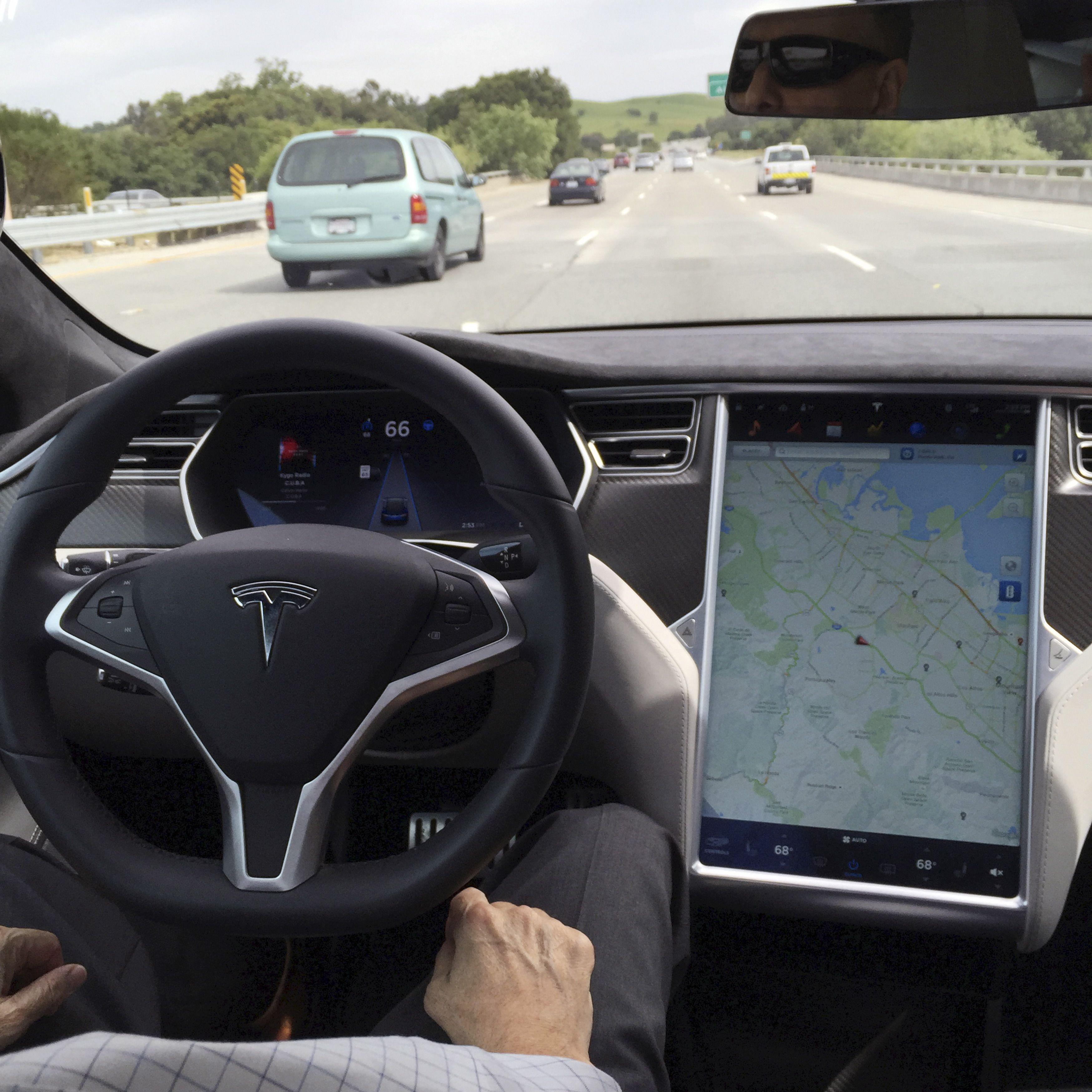 En 2040, il n'y aura plus que des voitures automatiques en Israël