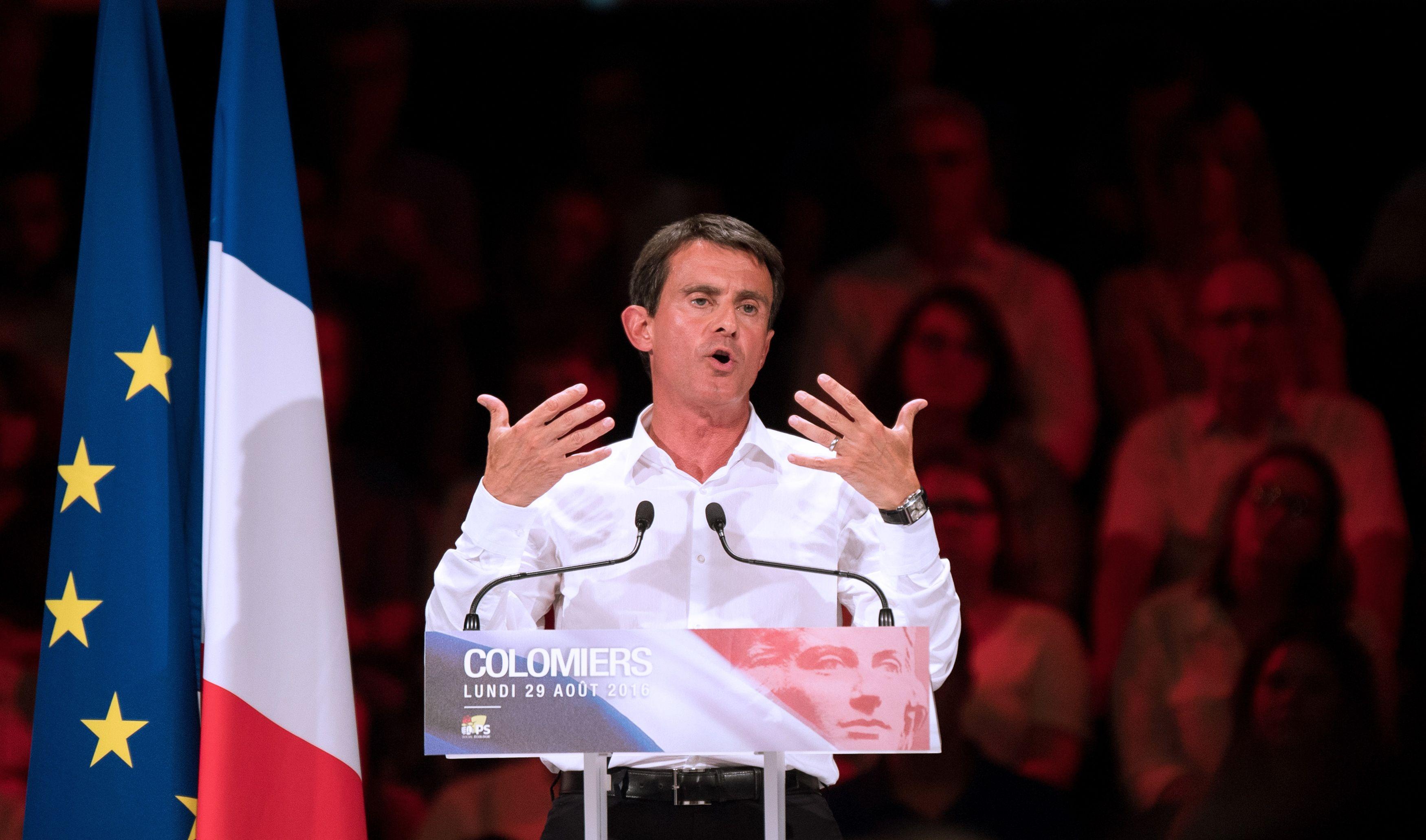 """Pour Manuel Valls : """"la gauche française peut devenir la plus bête du monde"""""""