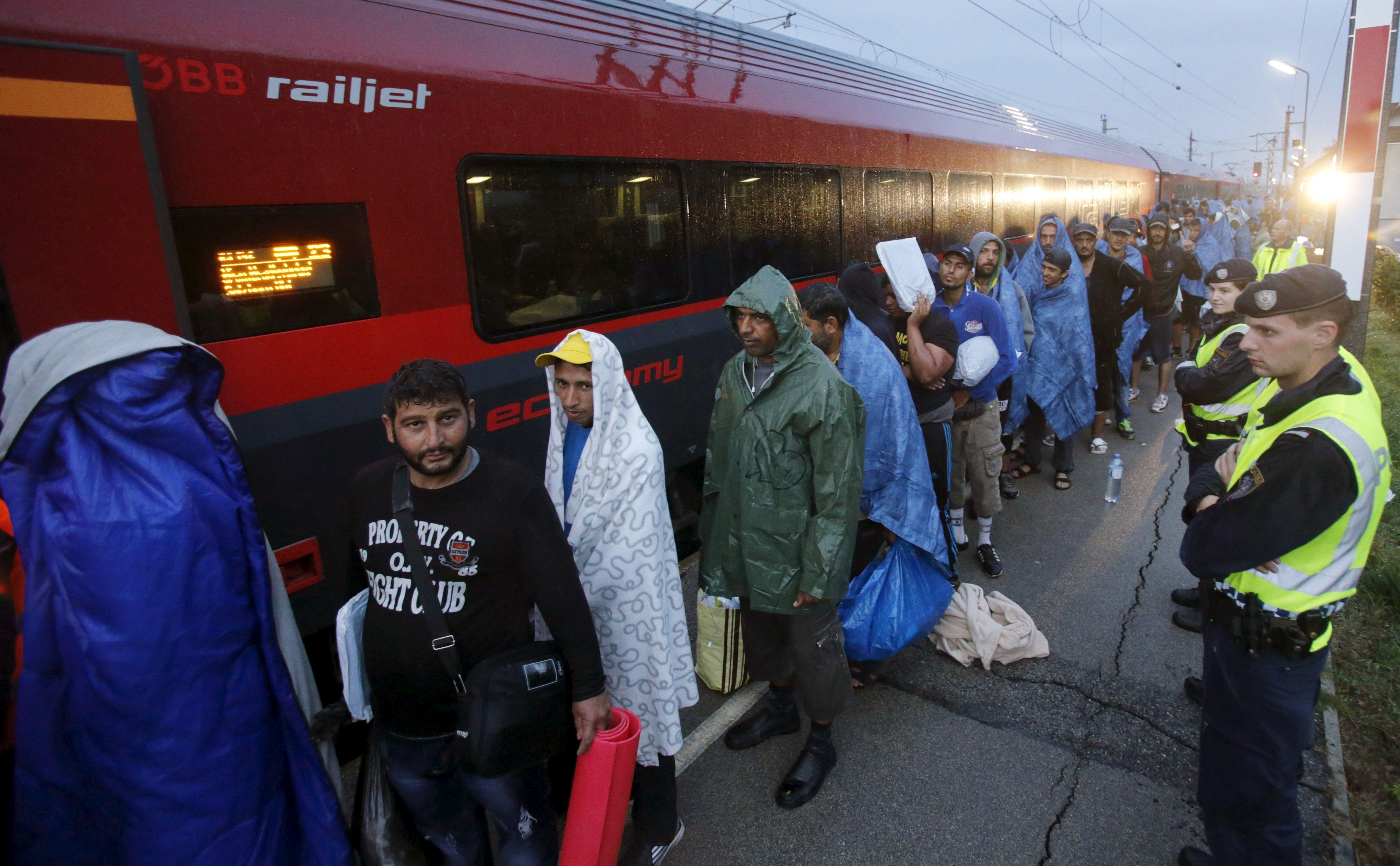L'Autriche veut esquiver l'accueil des migrants