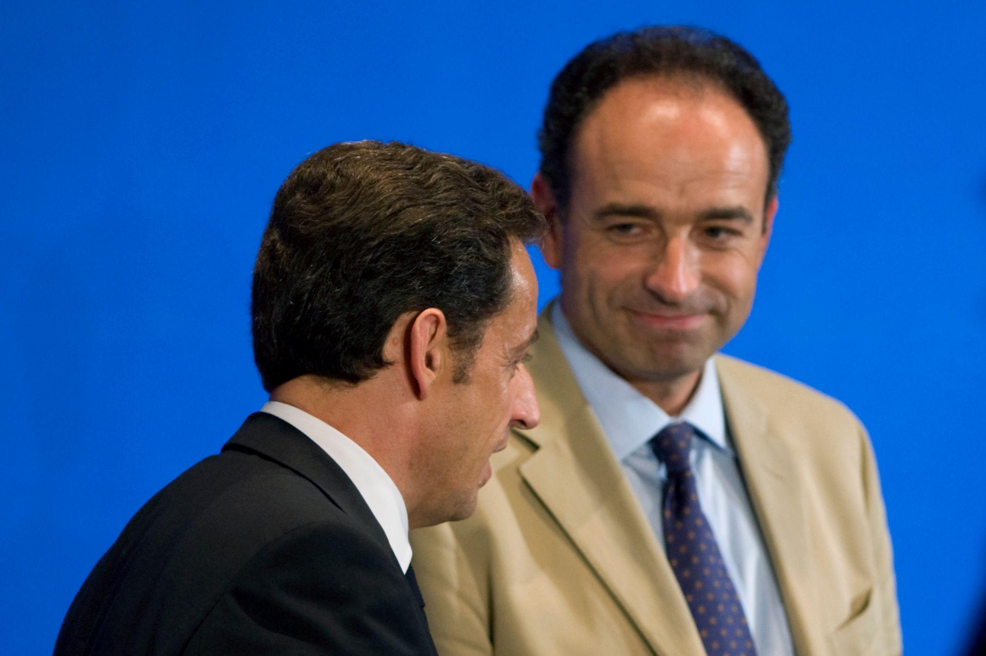 Nicolas Sarkozy et Jean-François Copé.