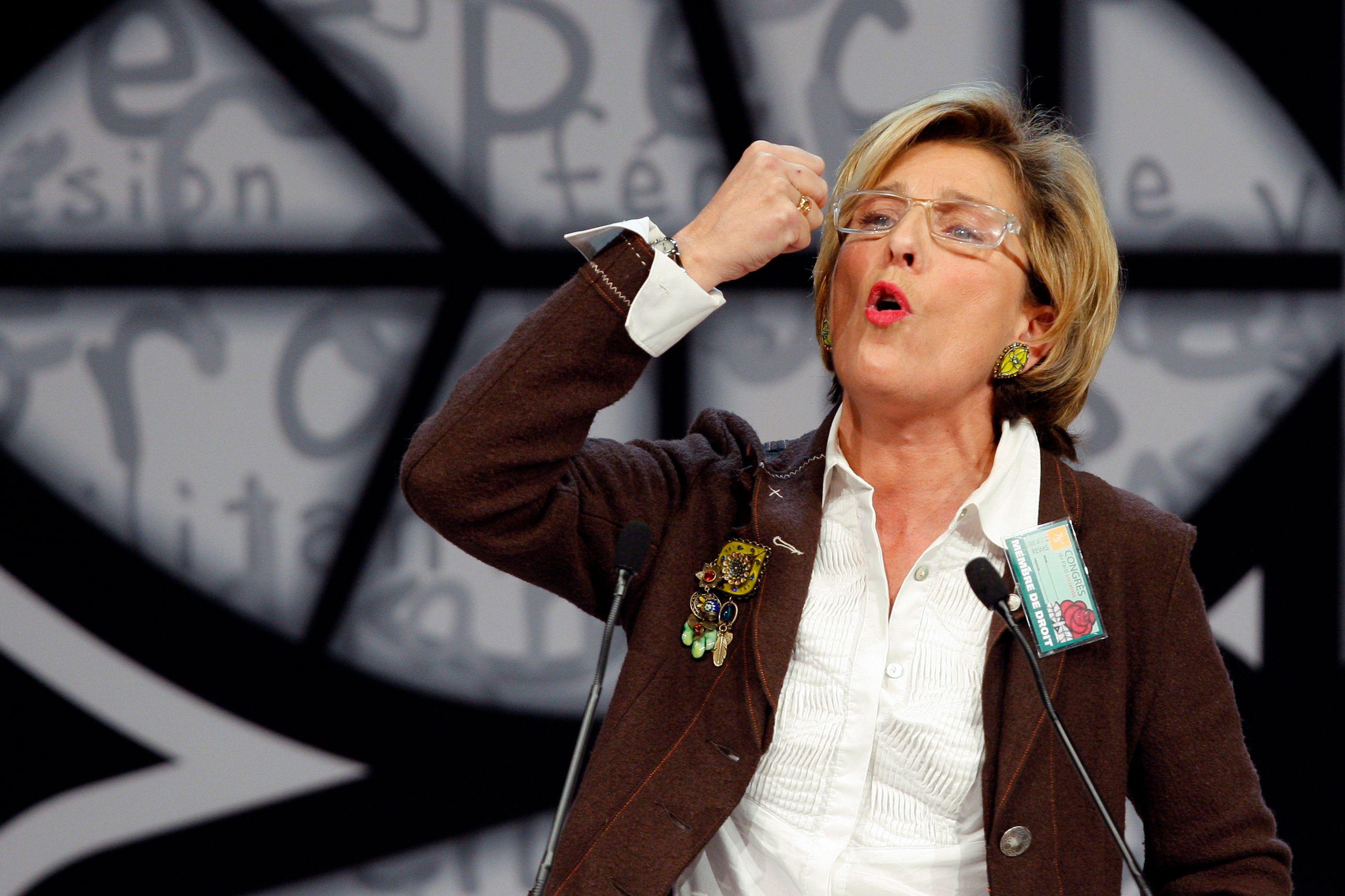 Marie-Noëlle Lienemann a fait savoir son désaccord avec Hollande