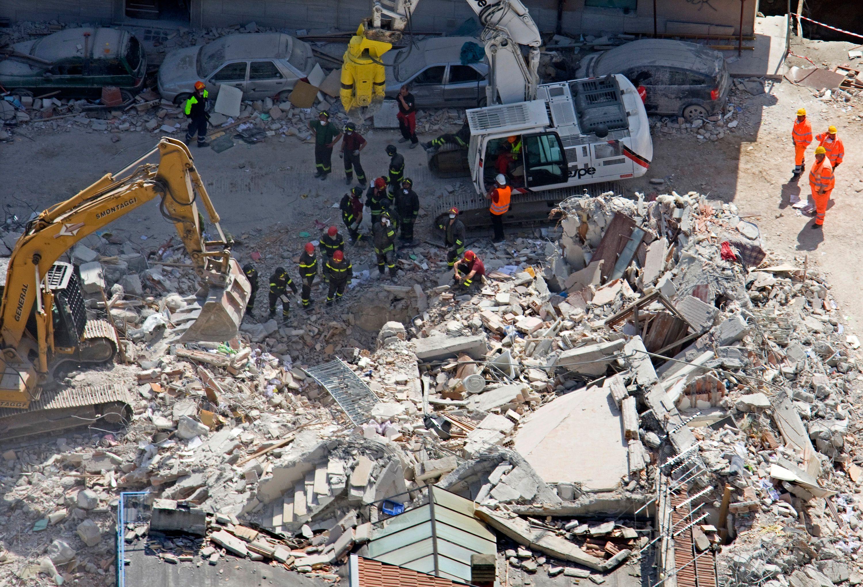 Le séisme de l'Aquila a dévasté la ville italienne