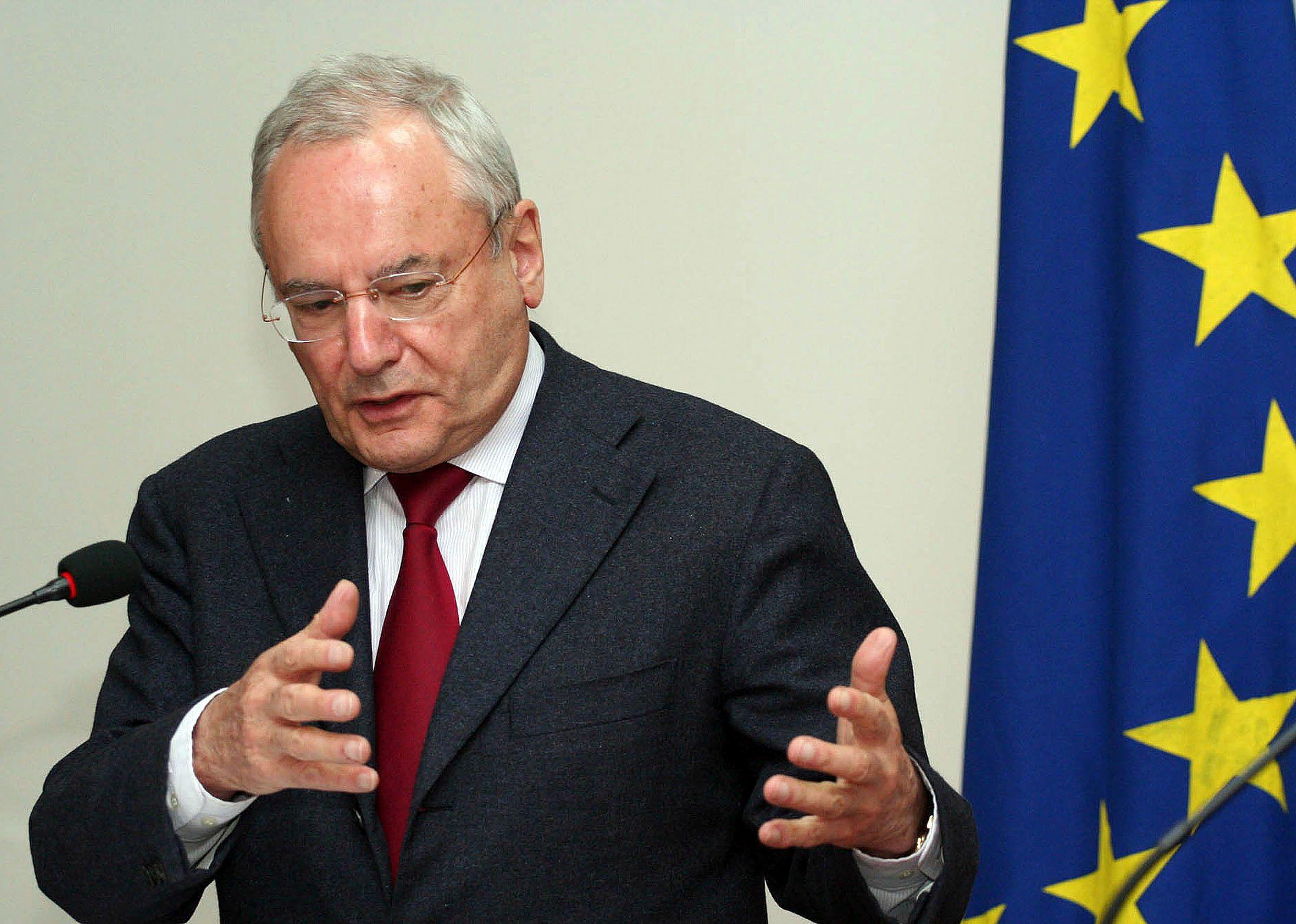 Jacques Barrot a été longtemps commissaire européen
